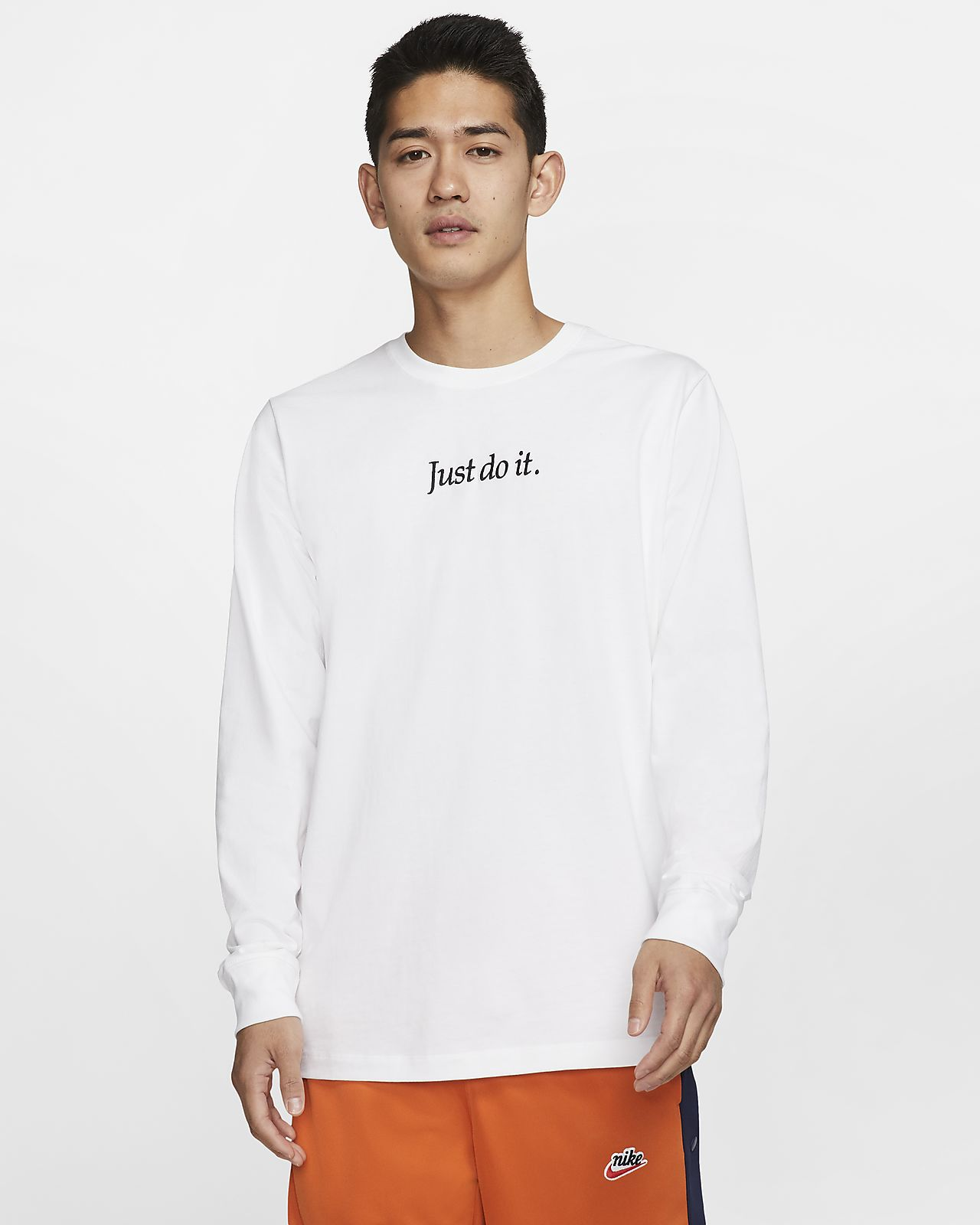 Nike Sportswear JDI Langarm T Shirt für Herren