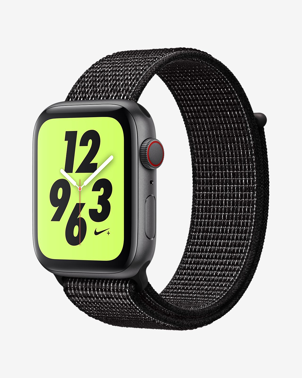 online store 4a79b 03d0d ... Apple Watch Nike+ Series 4 (GPS + Cellular) with Nike Sport Loop 44mm  Sport