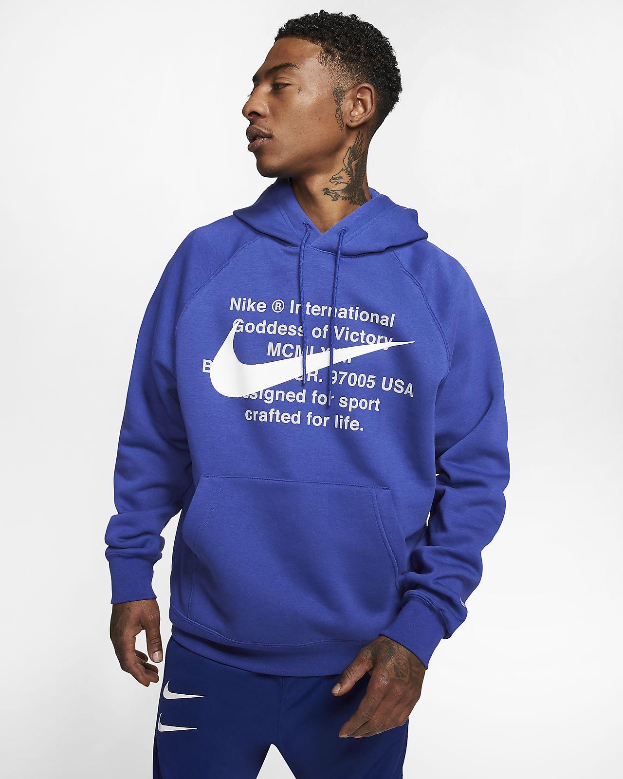 Felpa pullover con cappuccio Nike Sportswear Swoosh - Uomo