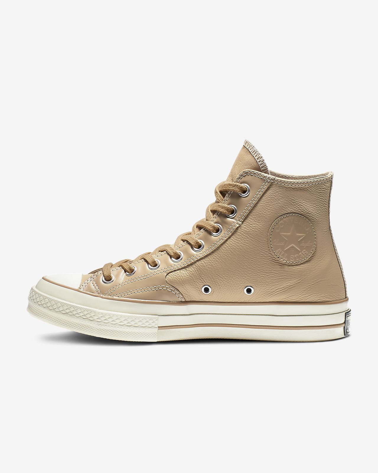 Chuck 70 Luxe Leather High Top Unisex Shoe