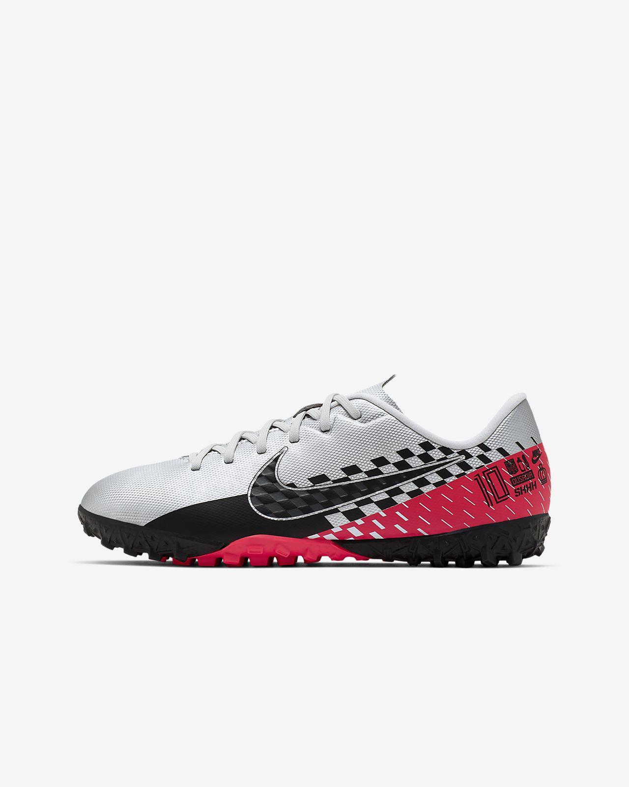 Nike Jr. Mercurial Vapor 13 Academy Neymar Jr. TF Little/Big Kids' Artificial-Turf Soccer Shoe