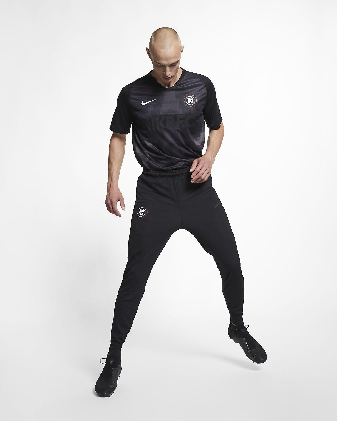 Pantalones de entrenamiento de fútbol para hombre Nike F.C.