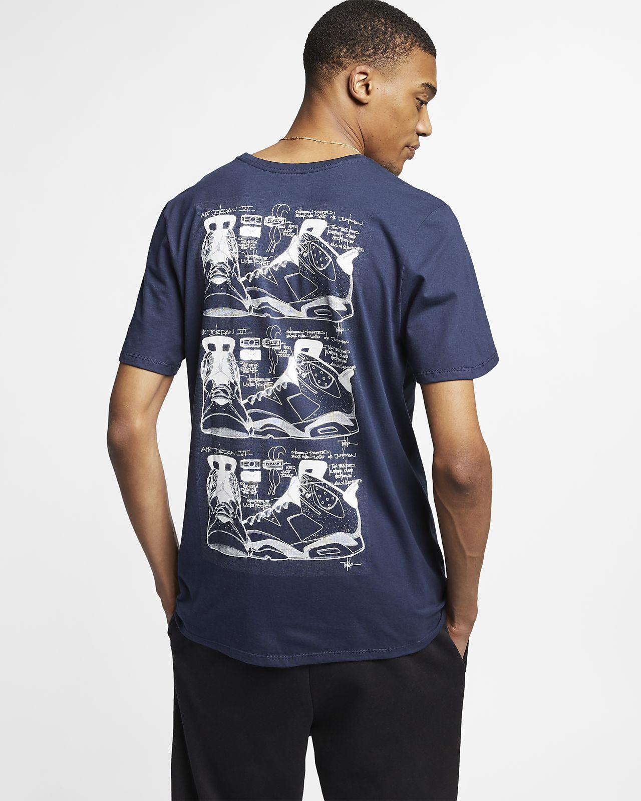 2fa1e07c2e6f Jordan Legacy AJ 6 Tinker Men s T-Shirt. Nike.com