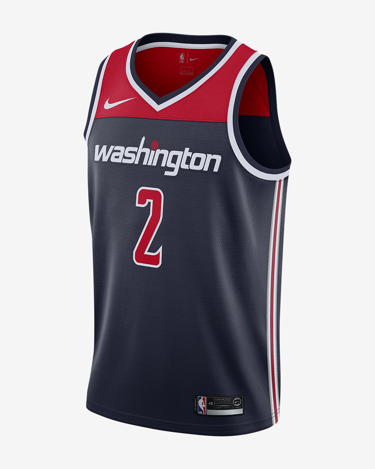 super popular 60e79 b813e John Wall Statement Edition Swingman (Washington Wizards) Men's Nike NBA  Connected Jersey