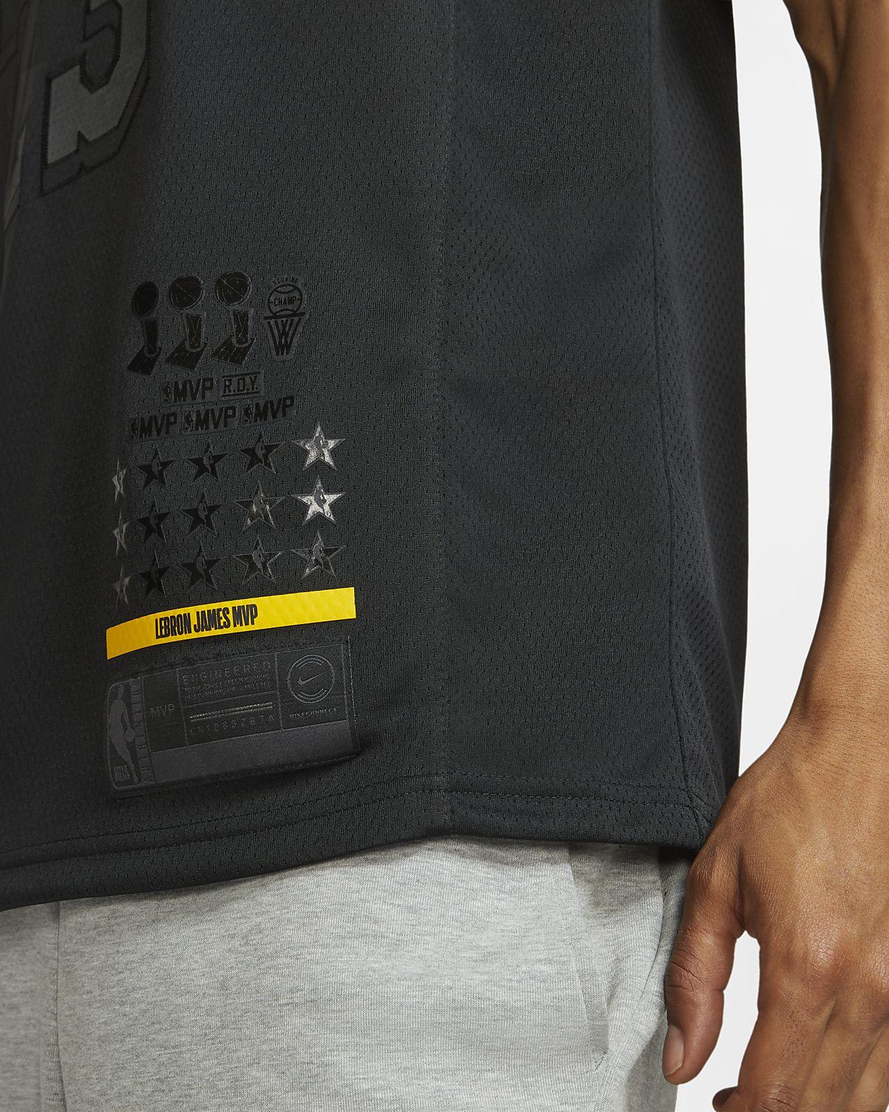 timeless design be522 b046c LeBron James MVP Swingman (Los Angeles Lakers) Men's Nike NBA Connected  Jersey