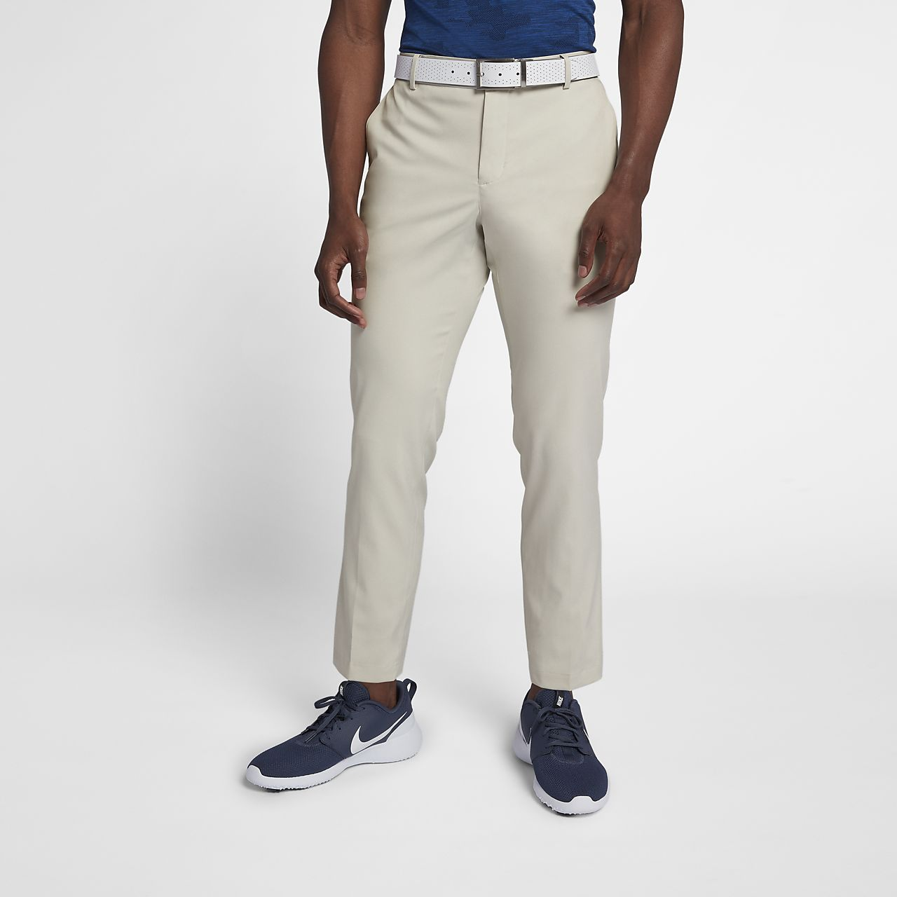 Nike Flex Mens Golf Trousers Gb Tendencies Navy Chinos Short 32