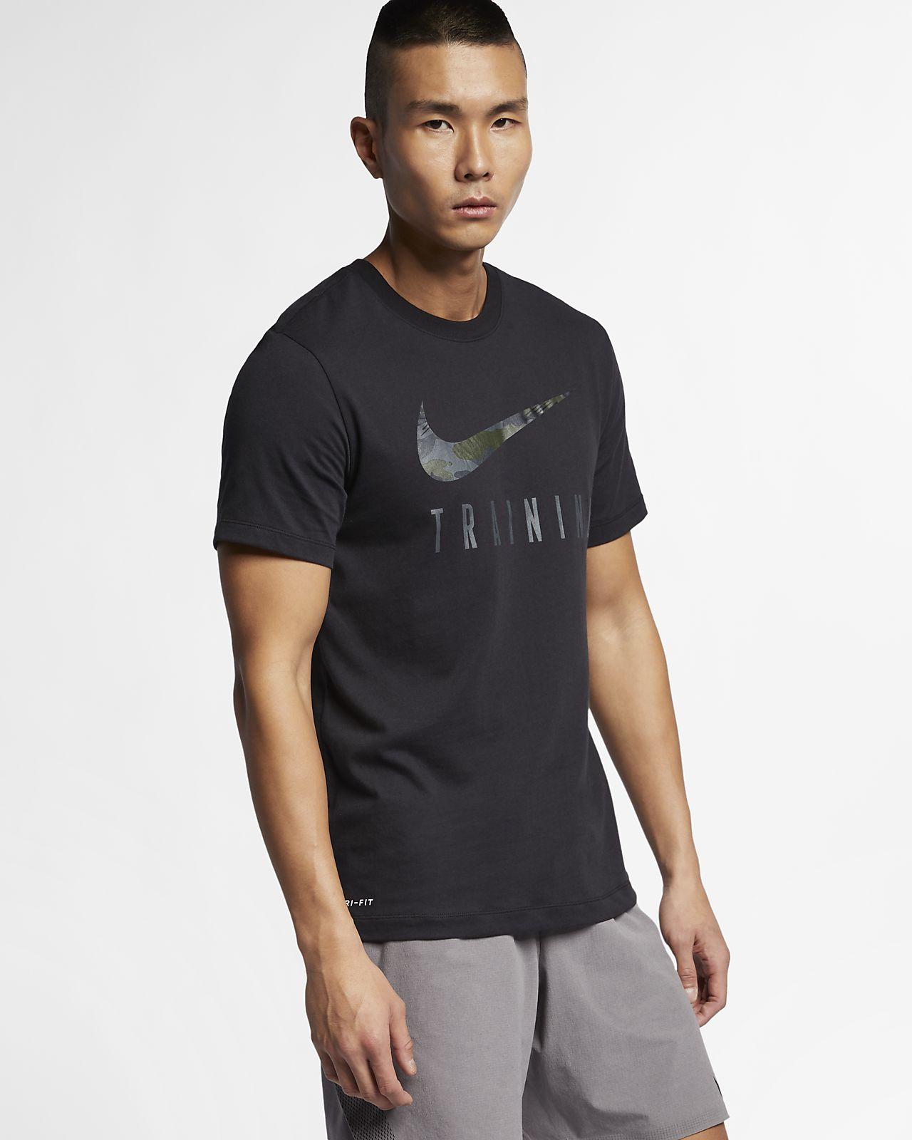 the latest e6180 12865 Tränings-t-shirt Nike Dri-FIT för män