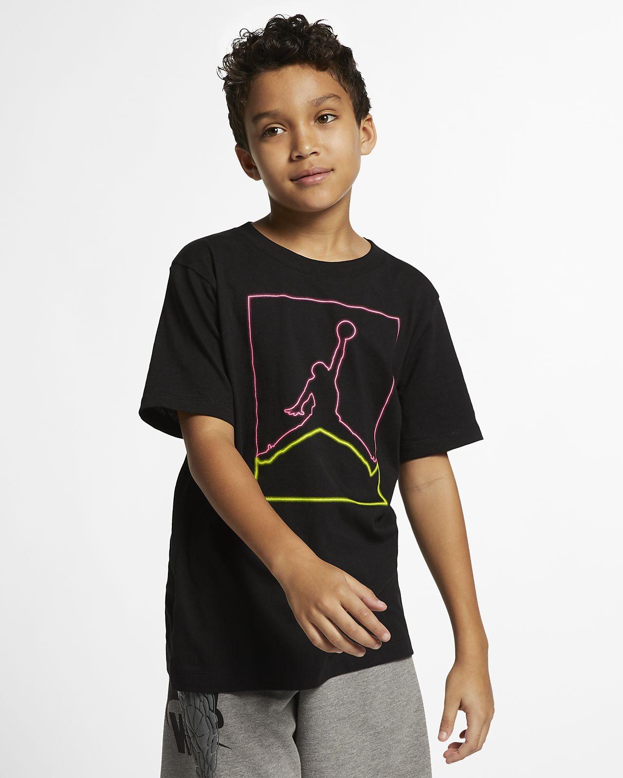 Jordan Light Flight 大童(男孩)T恤