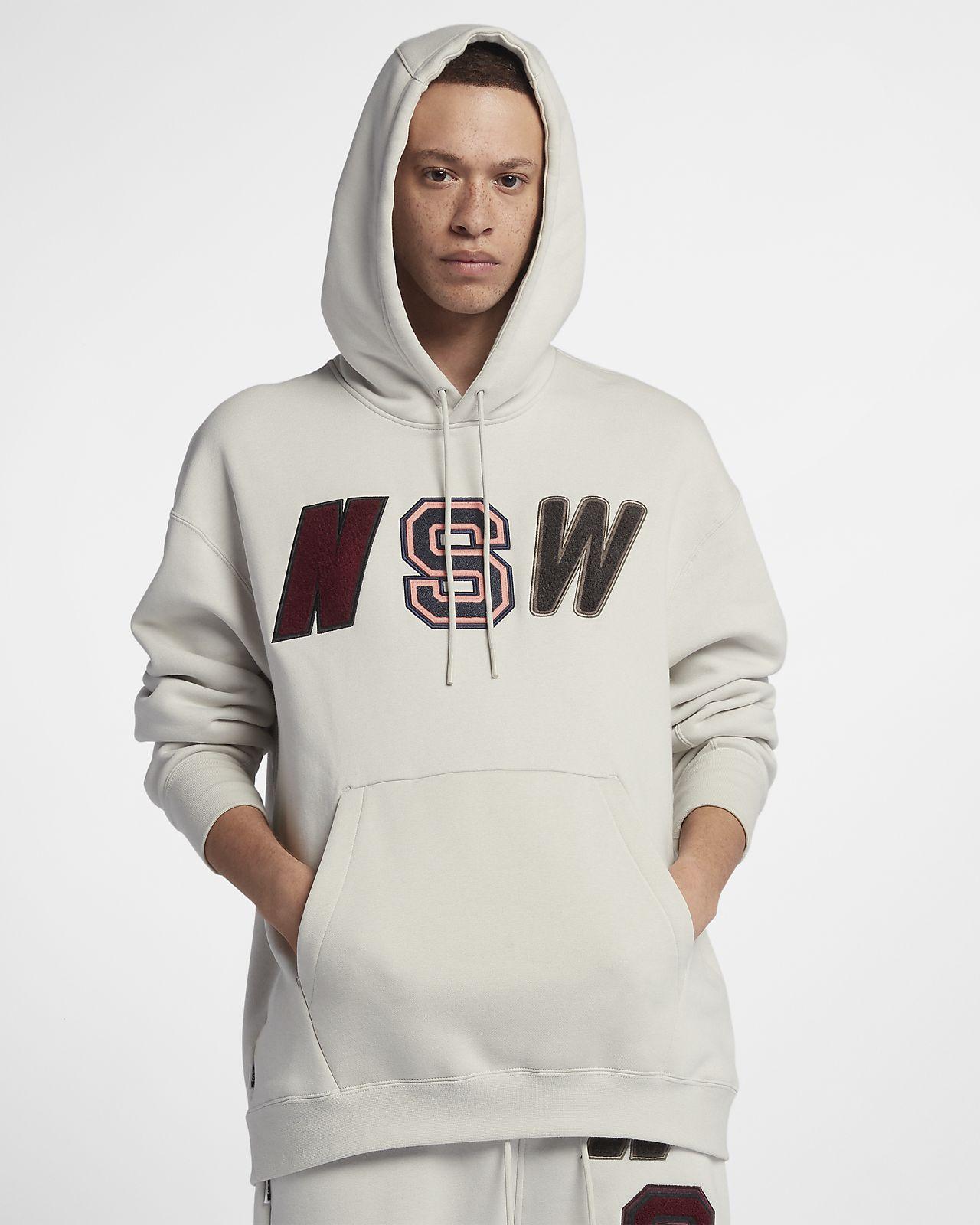 Nike Sportswear NSW Men's Loose-Fit Fleece Hoodie