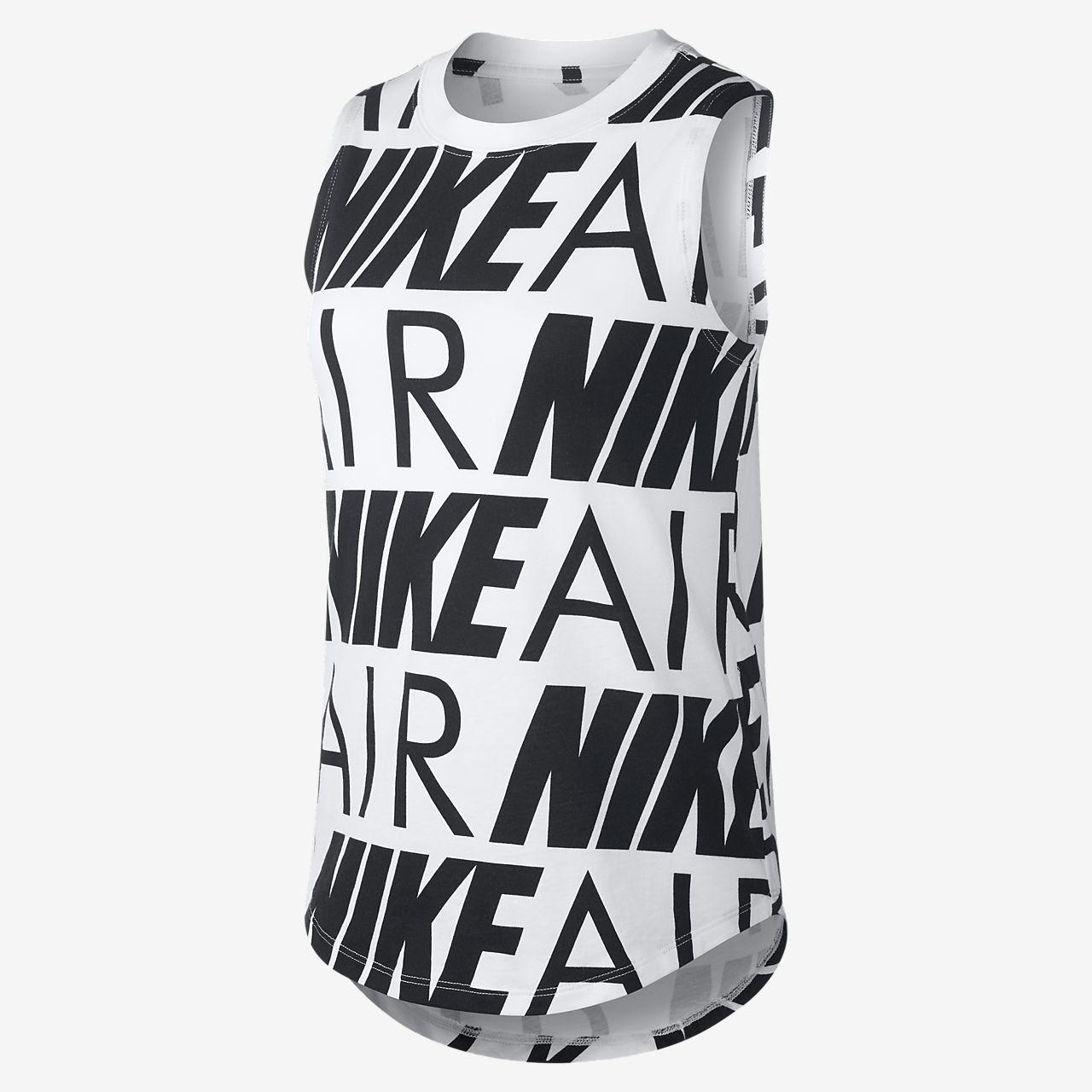 เสื้อกล้ามเด็กโต Nike Air (หญิง)