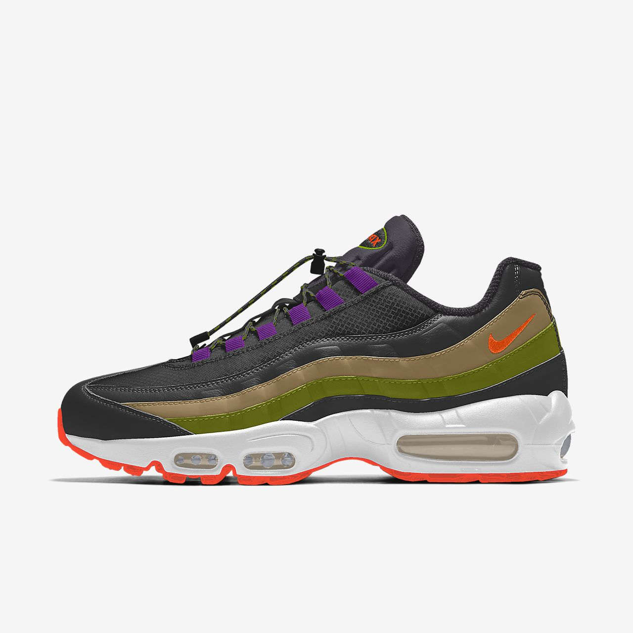 Nike Air Max 95 Premium IGC By You Custom Men's Lifestyle Shoe