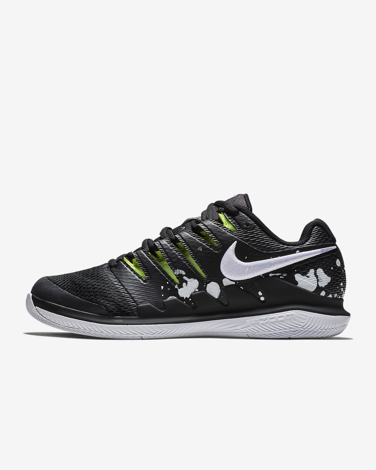 076dd18124 NikeCourt Air Zoom Vapor X Premium Hard-Court Men's Tennis Shoe ...