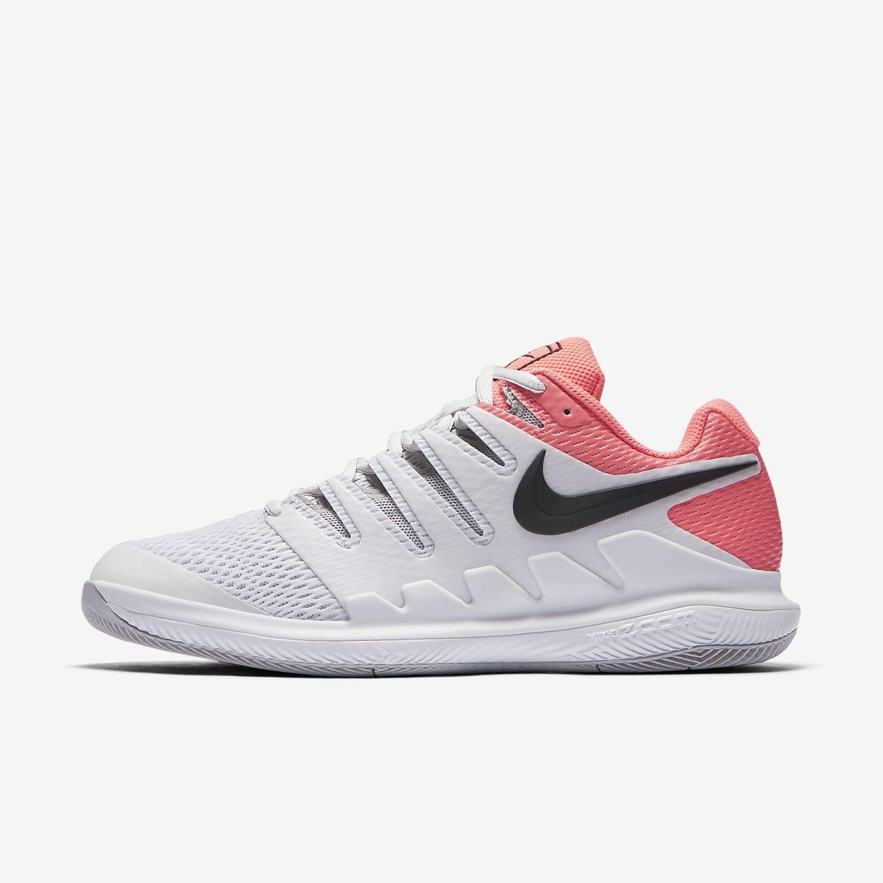 Nike - Air Zoom Vapor X Femmes Chaussure de tennis (gris/rosa) - EU 39 - US 8 YbeVco