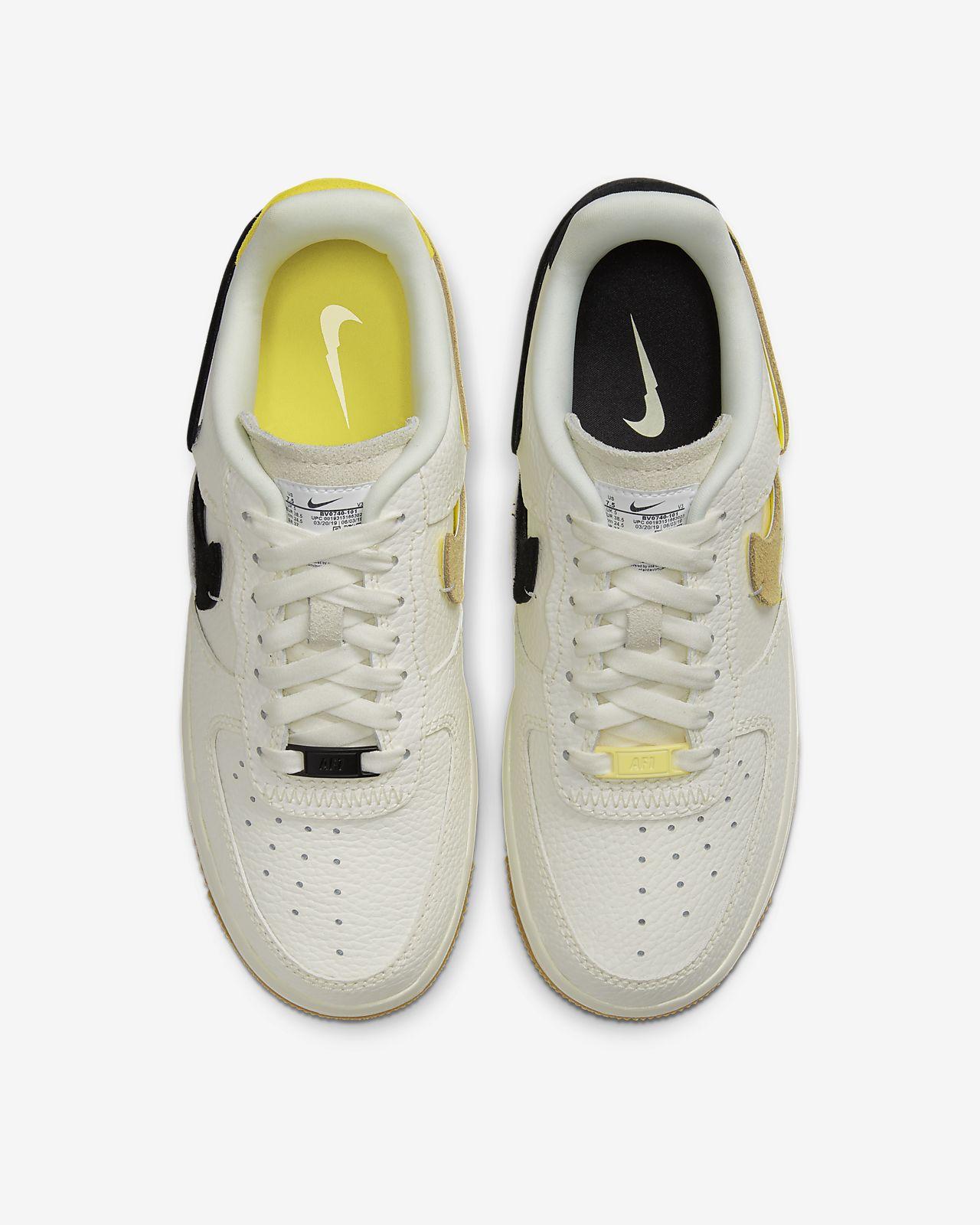 Nike WMNS Air Force 1 '07 (weiß grau)   43einhalb Sneaker