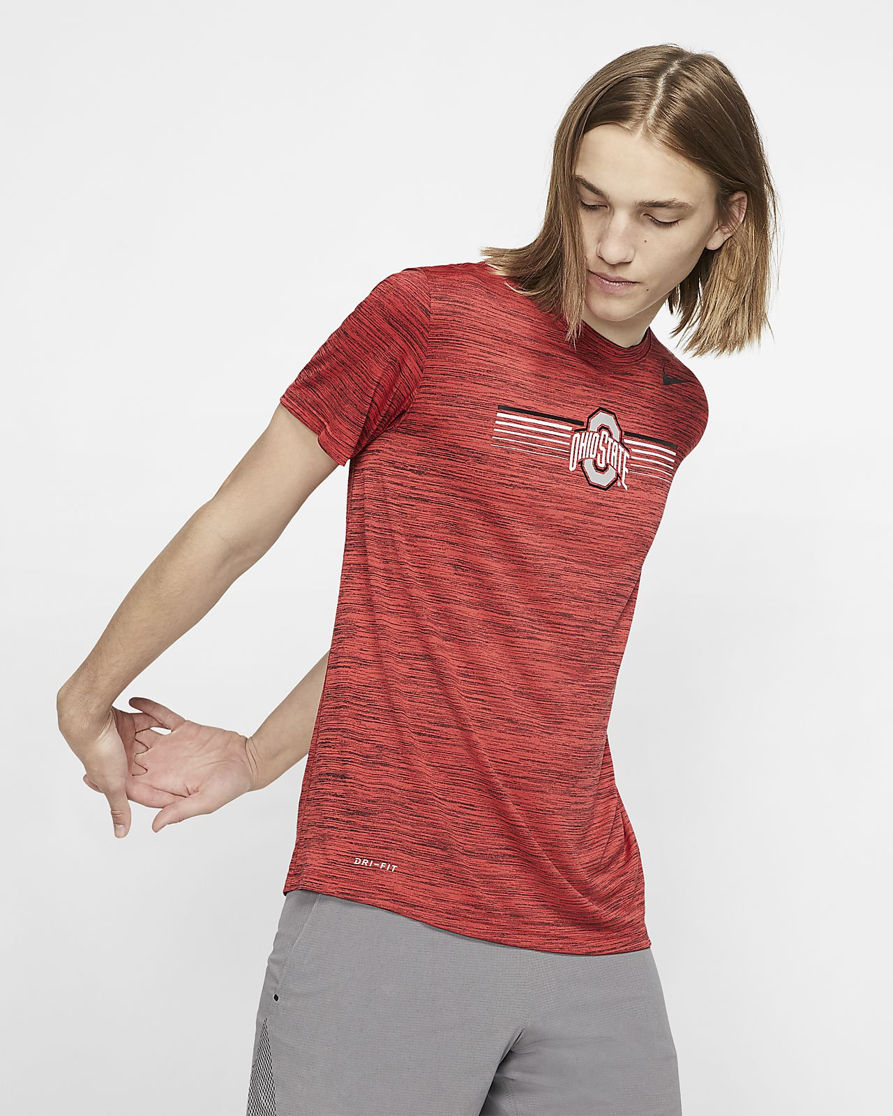 Nike College Dri-FIT Legend Velocity (Ohio State) Men's T-Shirt