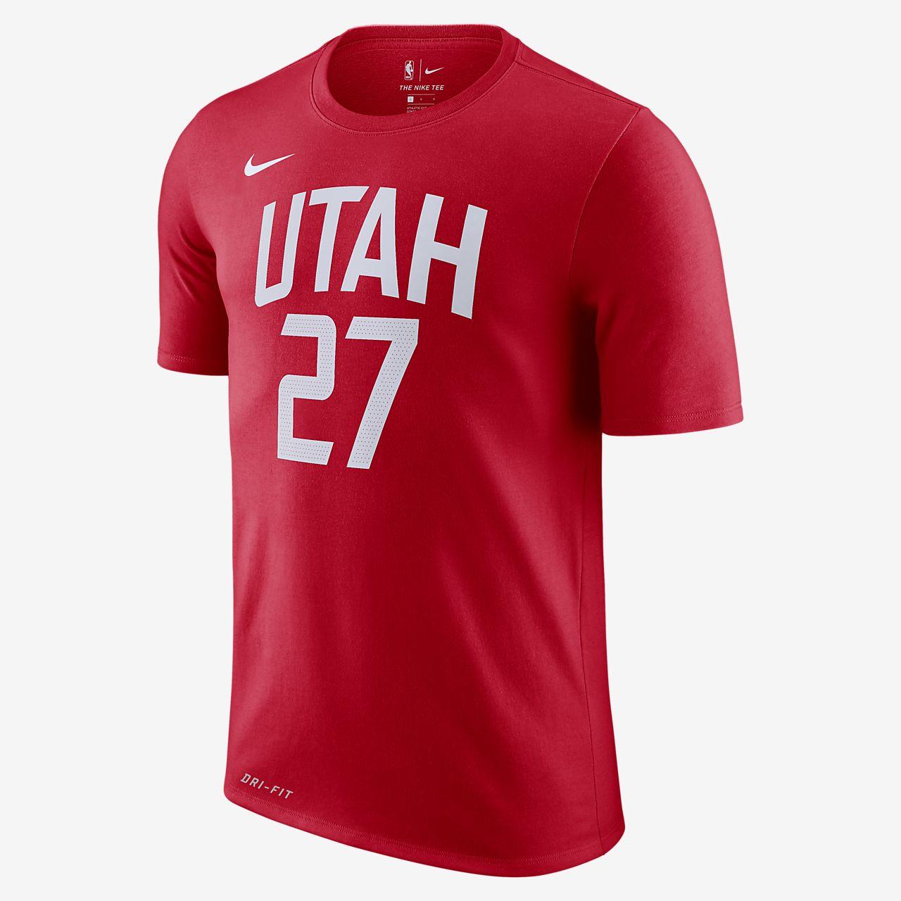 Rudy Gobert Utah Jazz City Edition Nike Dri-FIT Men s NBA T-Shirt ... ce7998e83