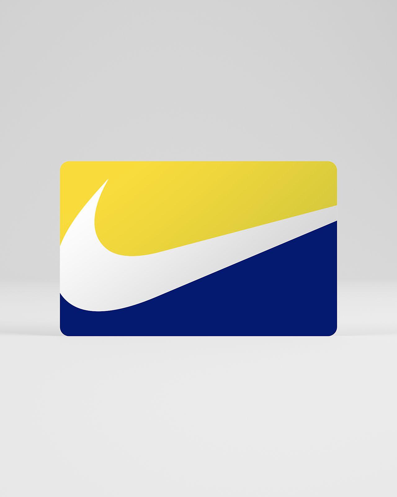 ナイキ デジタル ギフト カード