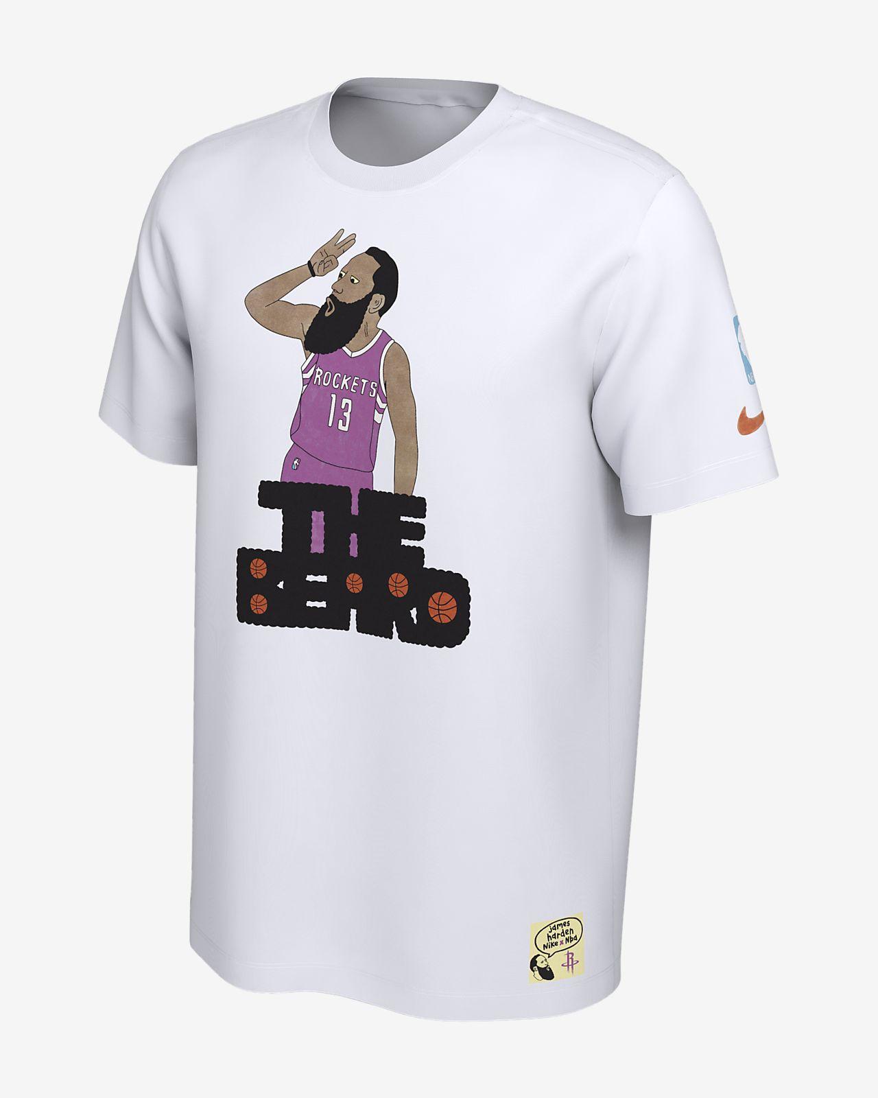 Nike Nba Doodles Gangster Nickname T X Men's Shirt Beard The vqrvY
