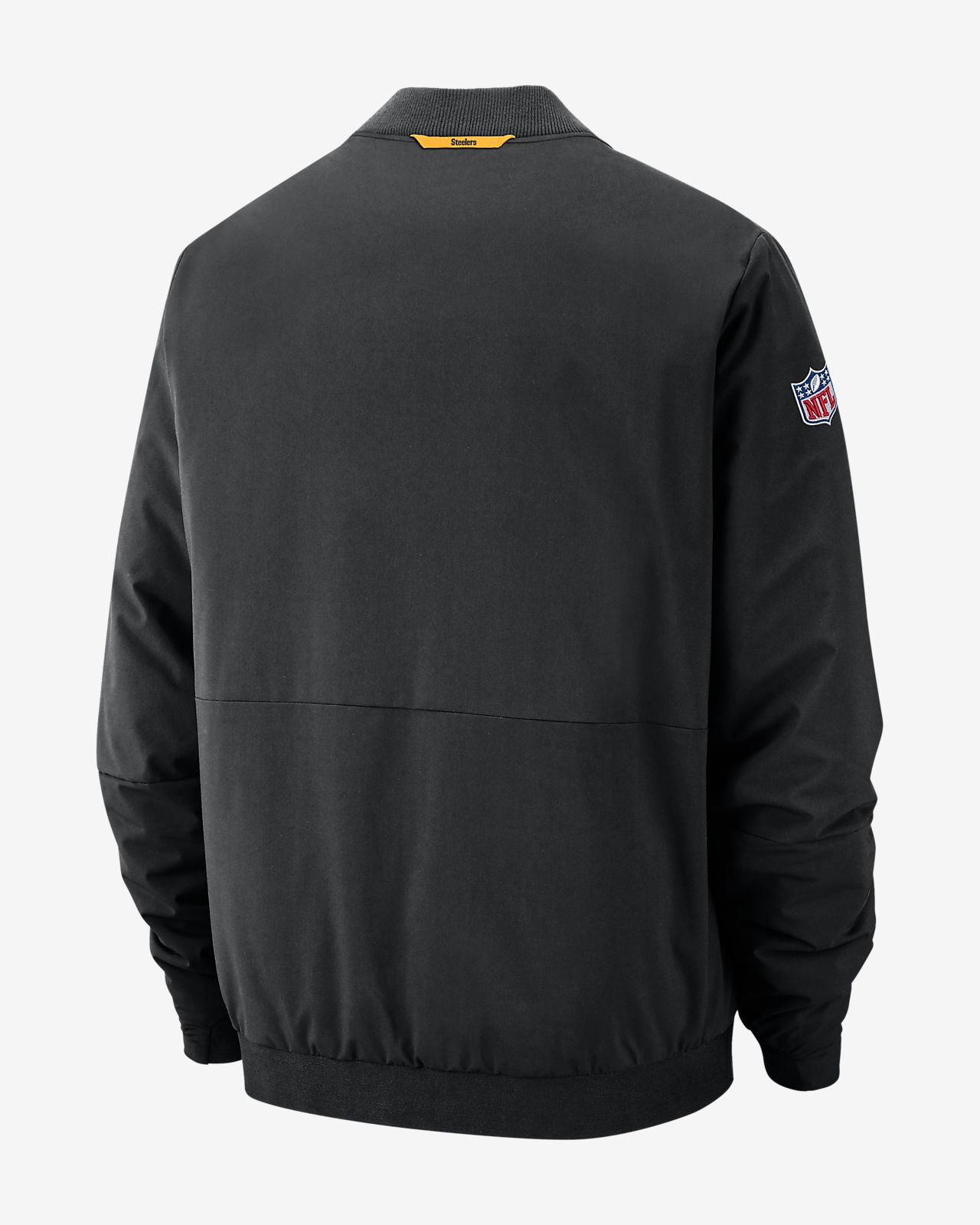 Nike Shield (NFL Steelers) Men s Bomber Jacket. Nike.com 8b0a04bcd