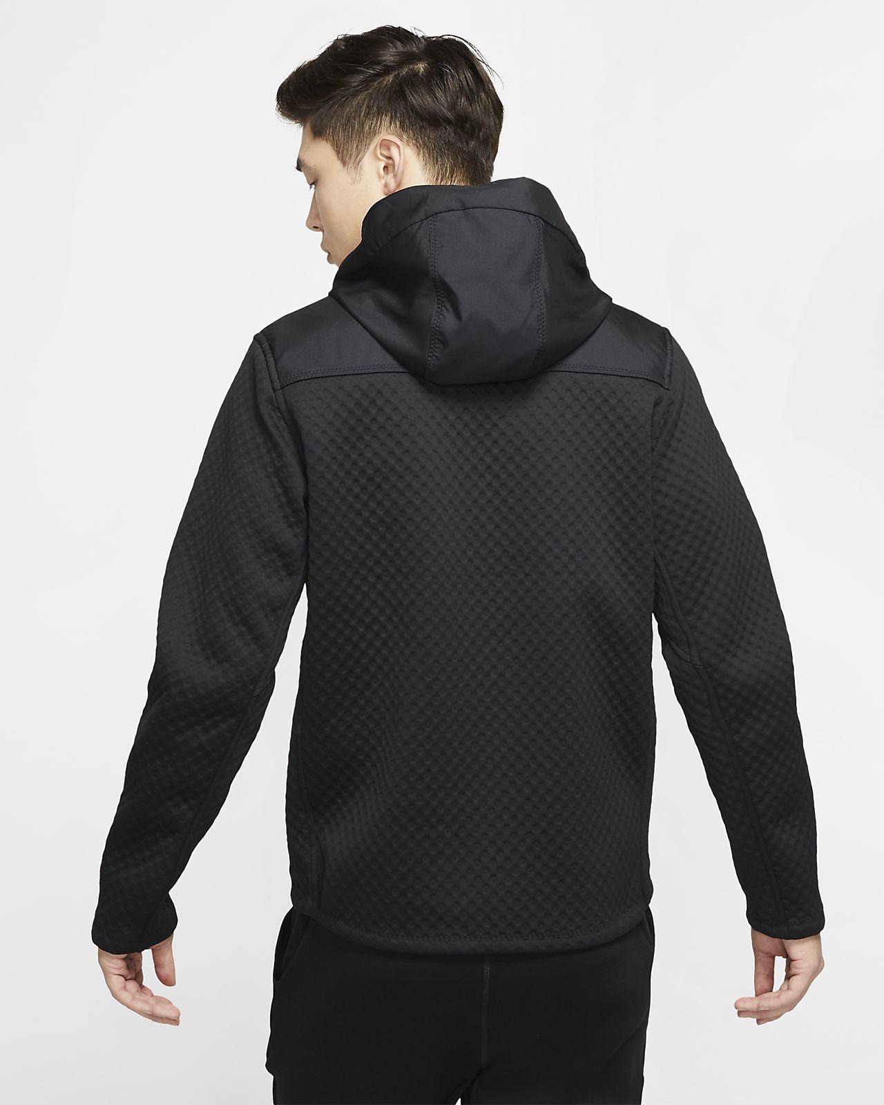 Nike Therma Herren Trainingsjacke mit Kapuze und durchgehendem Reißverschluss