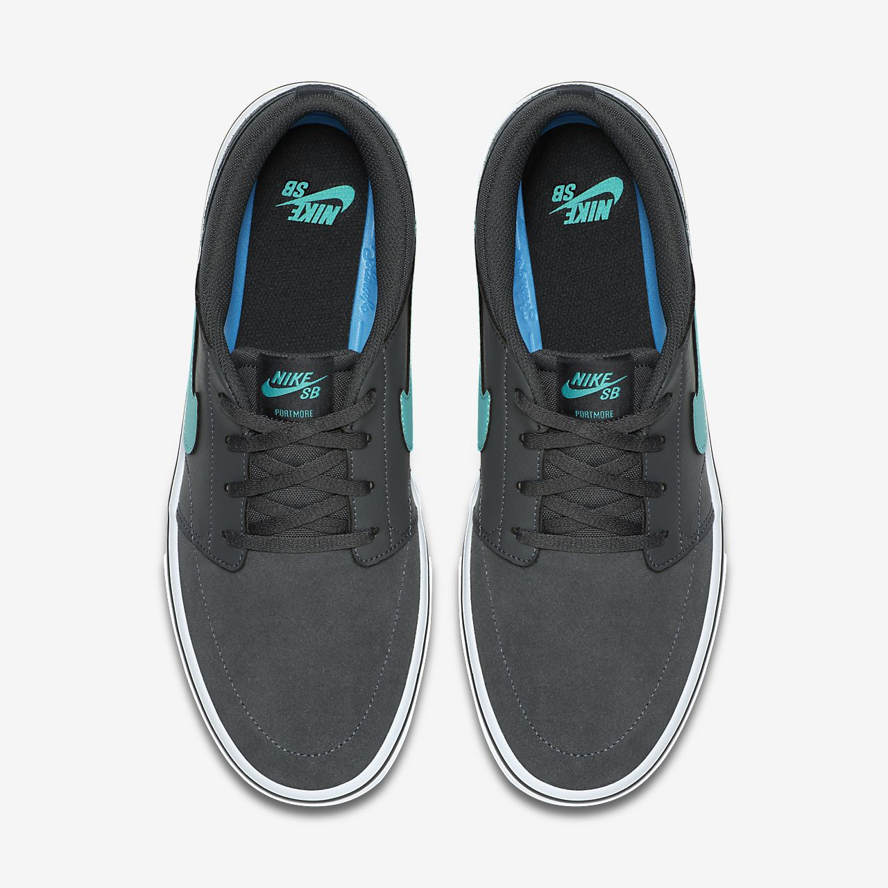brand new 7844d 2d110 ... Chaussure de skateboard Nike SB Solarsoft Portmore II pour Homme