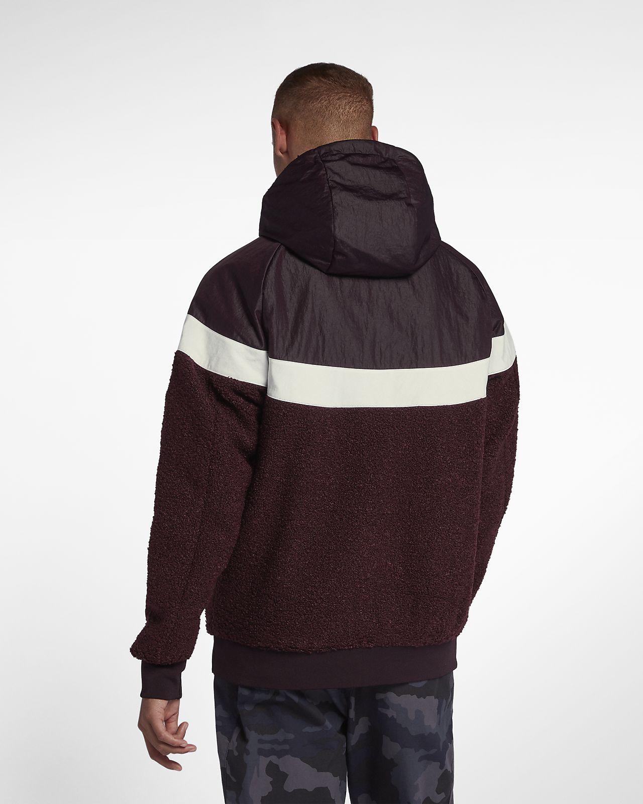 Nike Sherpa Pour Be En Windrunner Veste Sportswear Homme 85BEaxqn