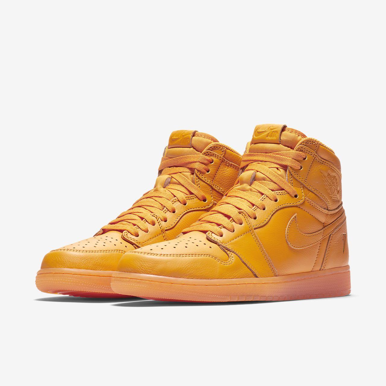 ade838318a09dc Air Jordan 1 Retro High OG  Orange  Men s Shoe. Nike.com ID