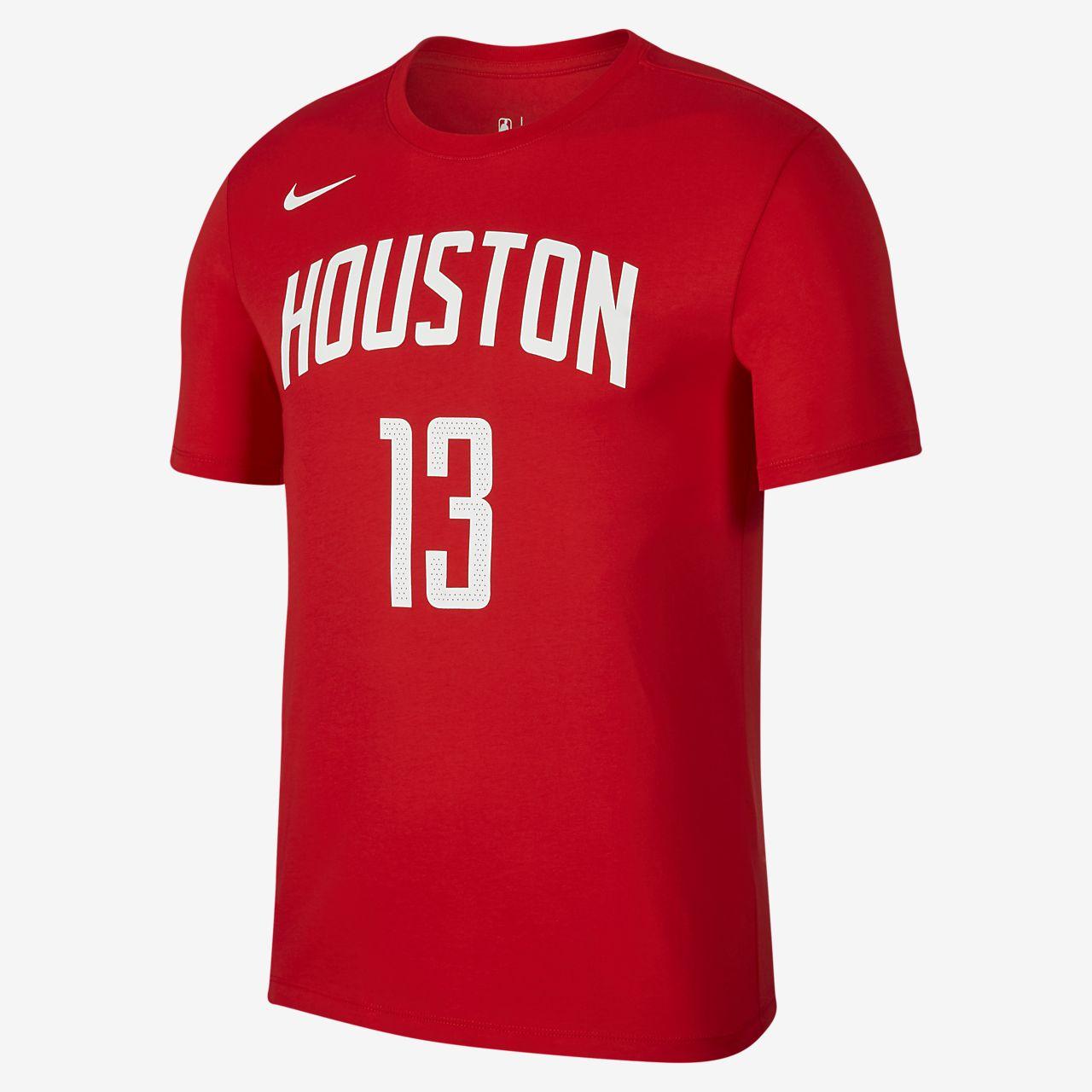 James Harden Houston Rockets City Edition Nike Dri-FIT 男款 NBA T 恤