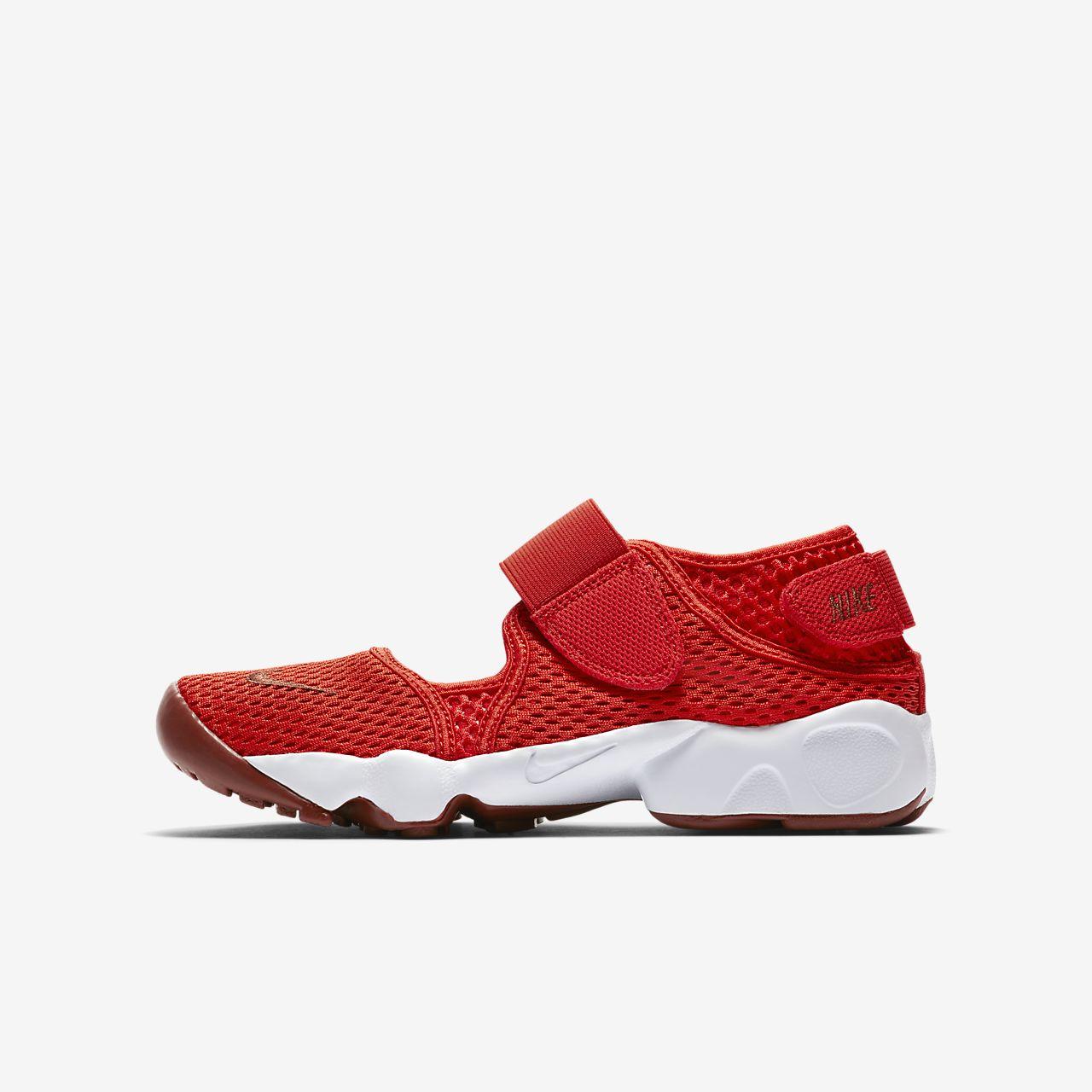 breda sorter gymnastikskor till salu Sko Nike Air Rift för barn (storlek 27,5–35). Nike SE
