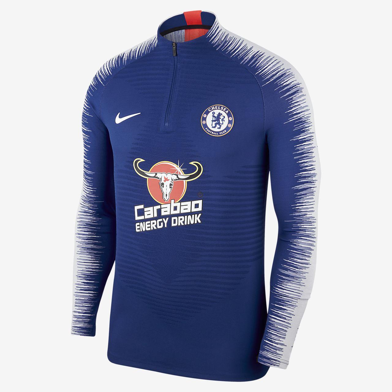 Chelsea FC VaporKnit Strike Drill Camiseta de fútbol de manga larga - Hombre 78da03daa2ed6