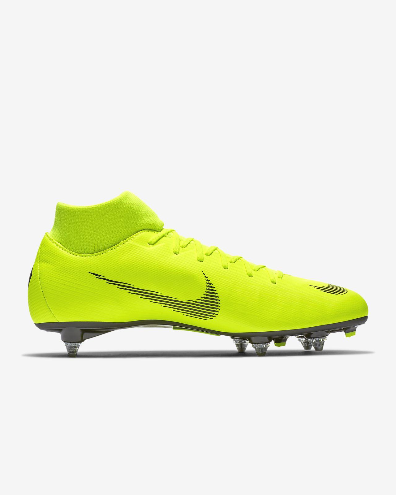 brand new 79ffc fed9b ... Chaussure de football à crampons pour terrain gras Nike Mercurial  Superfly VI Academy SG-PRO