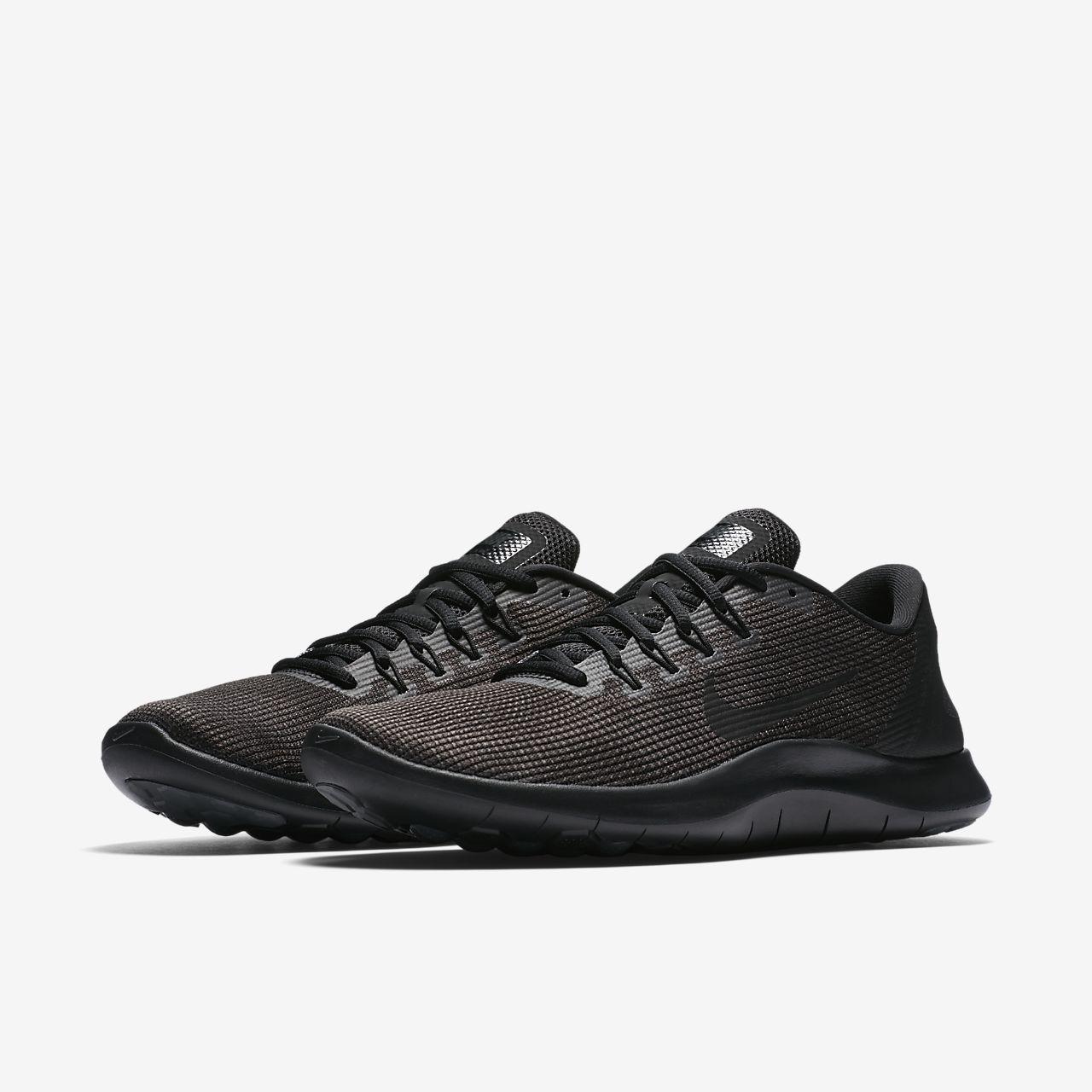 Nike Men/'s Flex RN 2018 Running Shoe BLACK SIZE 7.5
