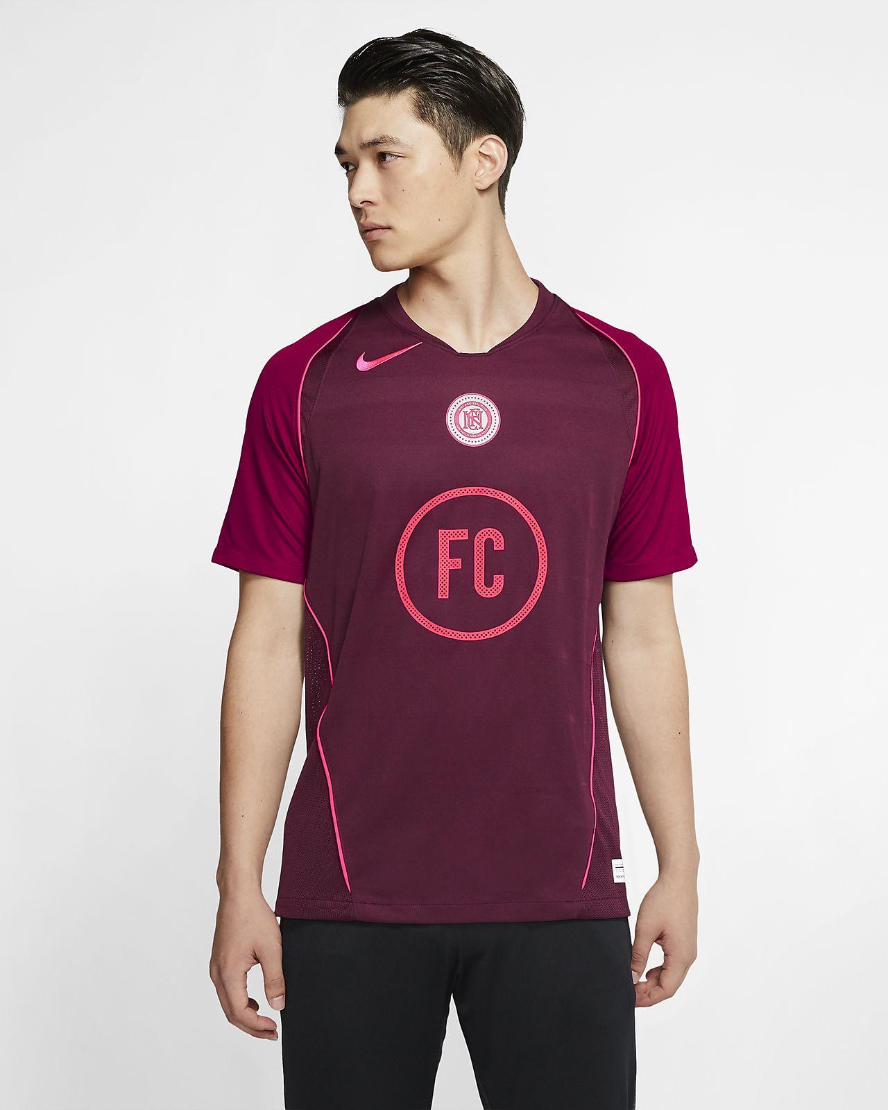 Maillot de football à manches courtes Nike F.C. Home pour Homme