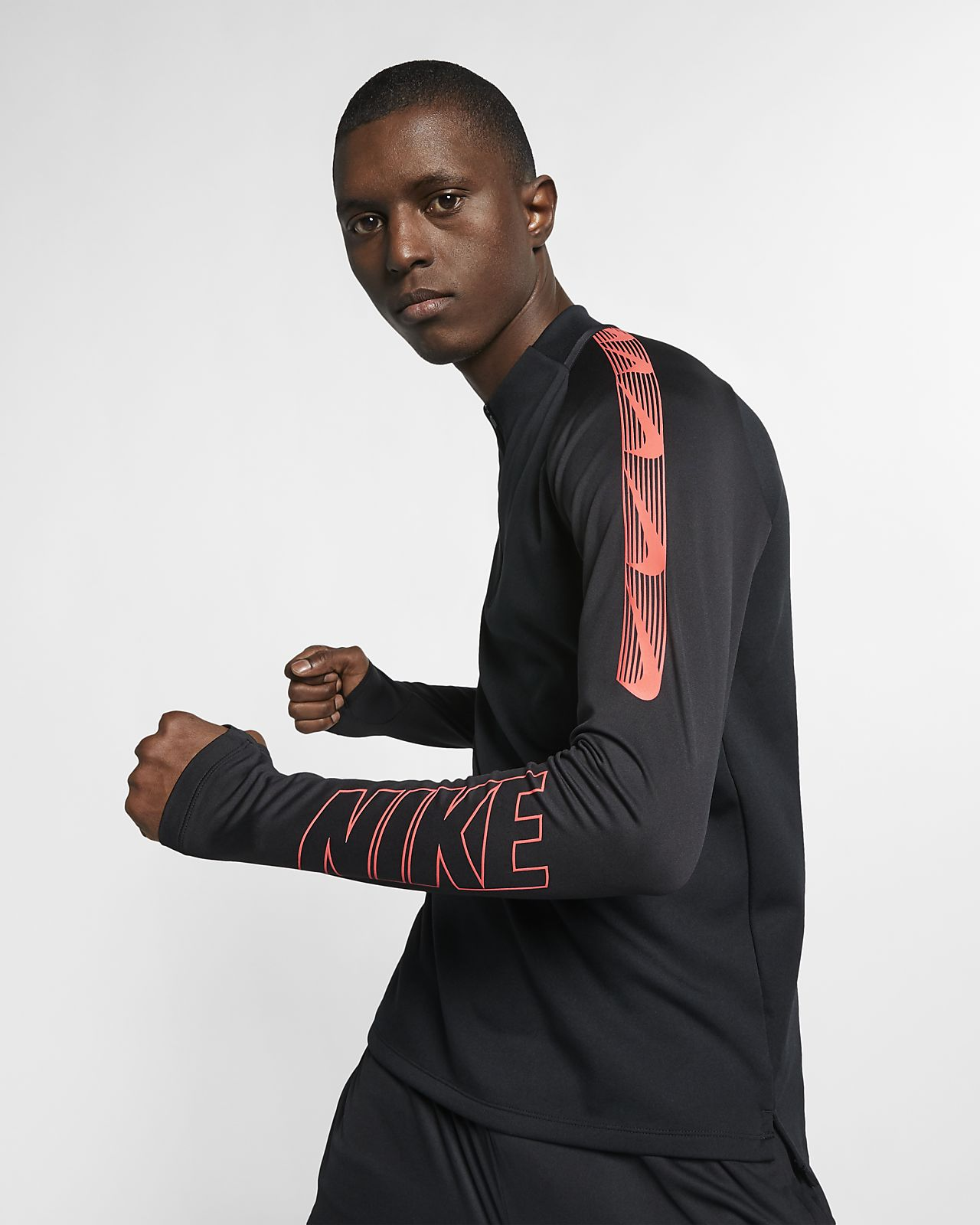 Мужская футболка для футбольного тренинга Nike Dri-FIT Squad