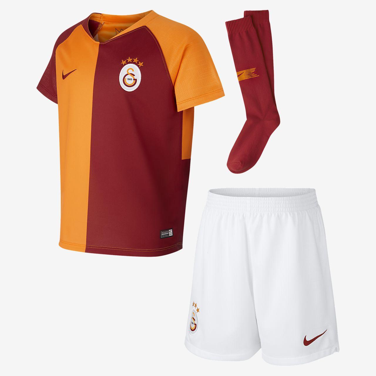 2018/19 Galatasaray S.K. Stadium Home-fodboldsæt til små børn