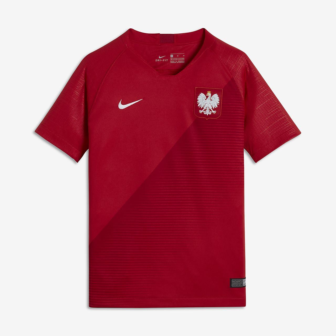 2018 Poland Stadium Away Older Kids' Football Shirt