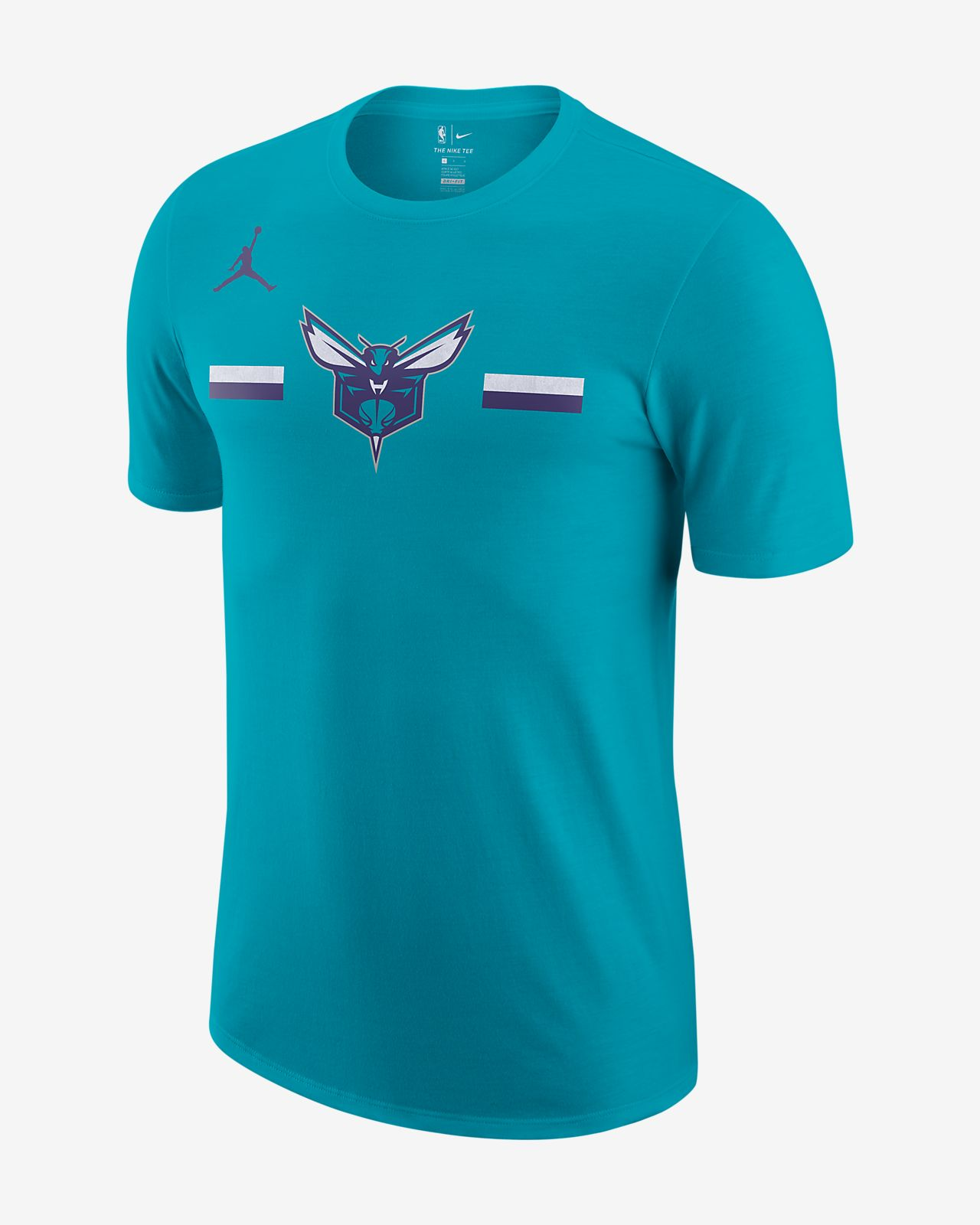 T-shirt Charlotte Hornets Jordan Dri-FIT NBA - Uomo