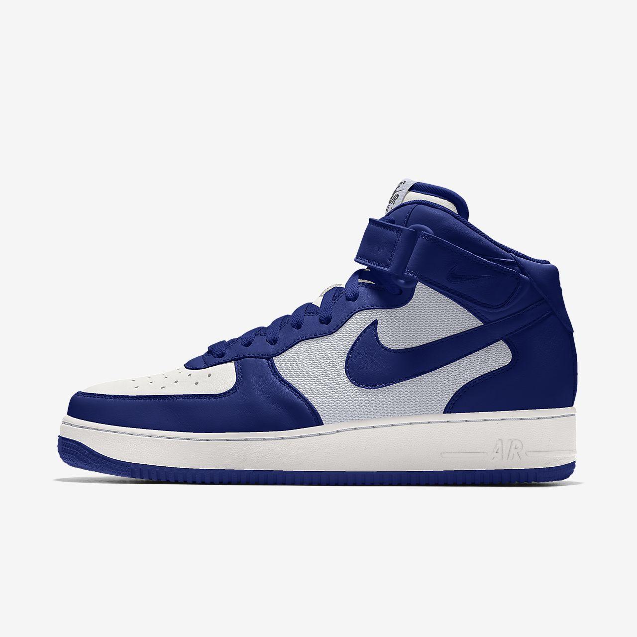 Nike Air Force 1 Mid By You Custom Older Kids' Shoe