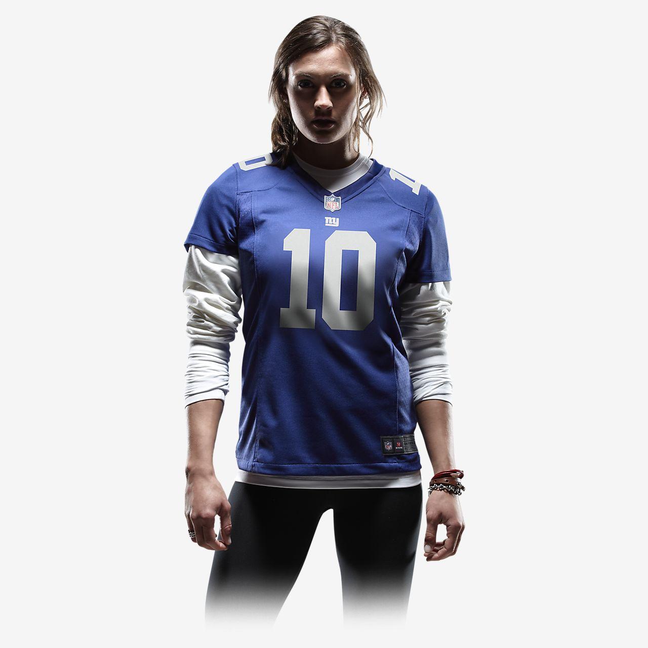 ae279265 NFL New York Giants Game (Eli Manning) Women's American Football Jersey