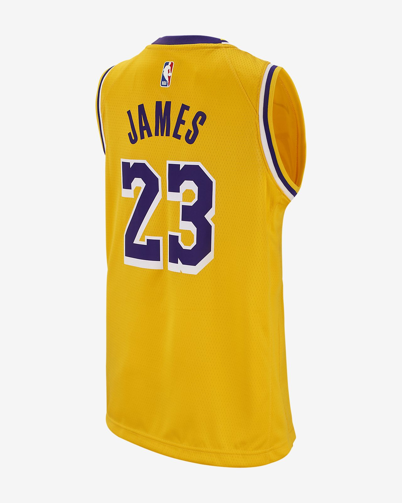 e790b6e5f14 ... LeBron James Icon Edition Swingman (Los Angeles Lakers) Big Kids' Nike  NBA Jersey