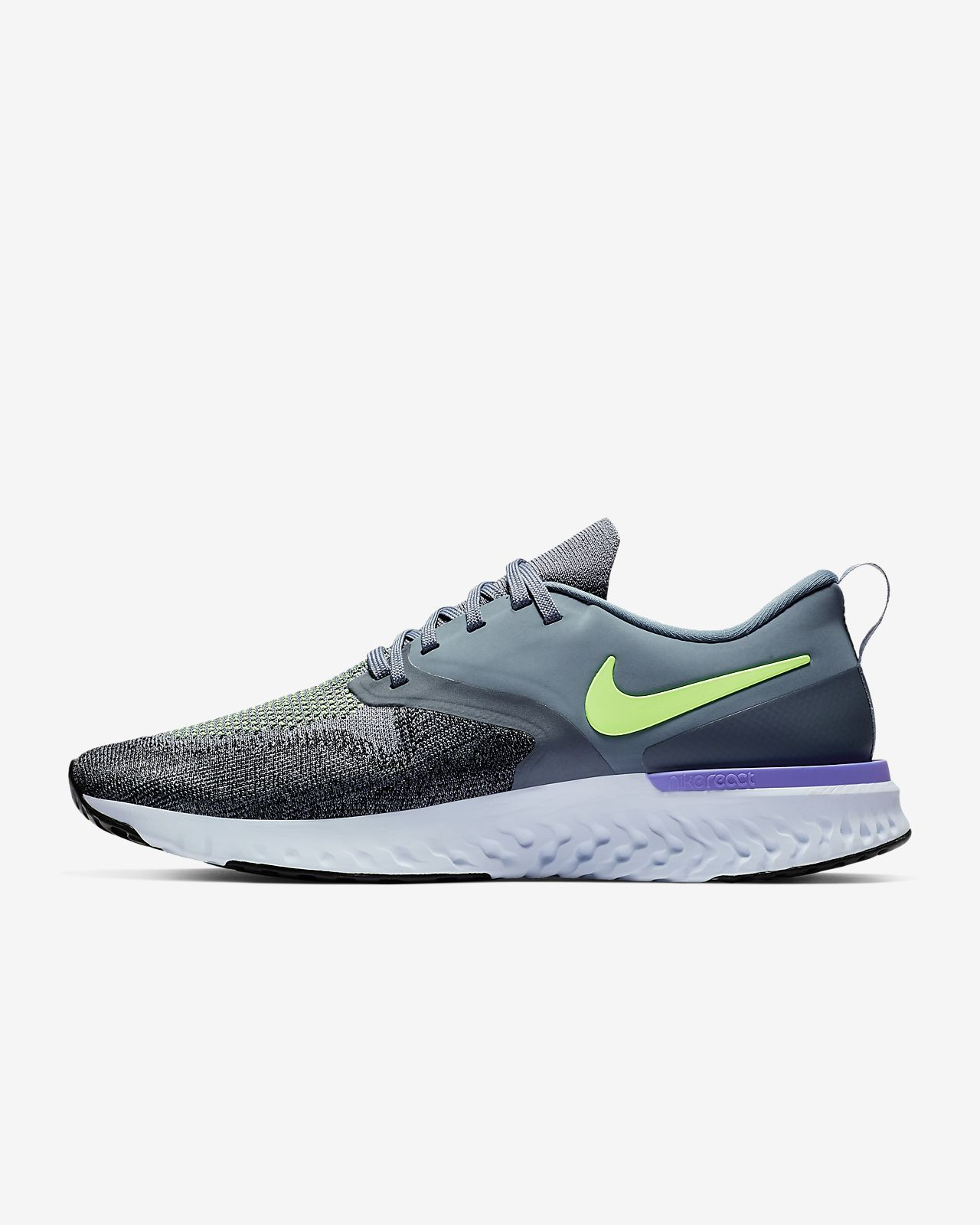ef37e819b9050 Chaussure de running Nike Odyssey React Flyknit 2 pour Homme. Nike ...