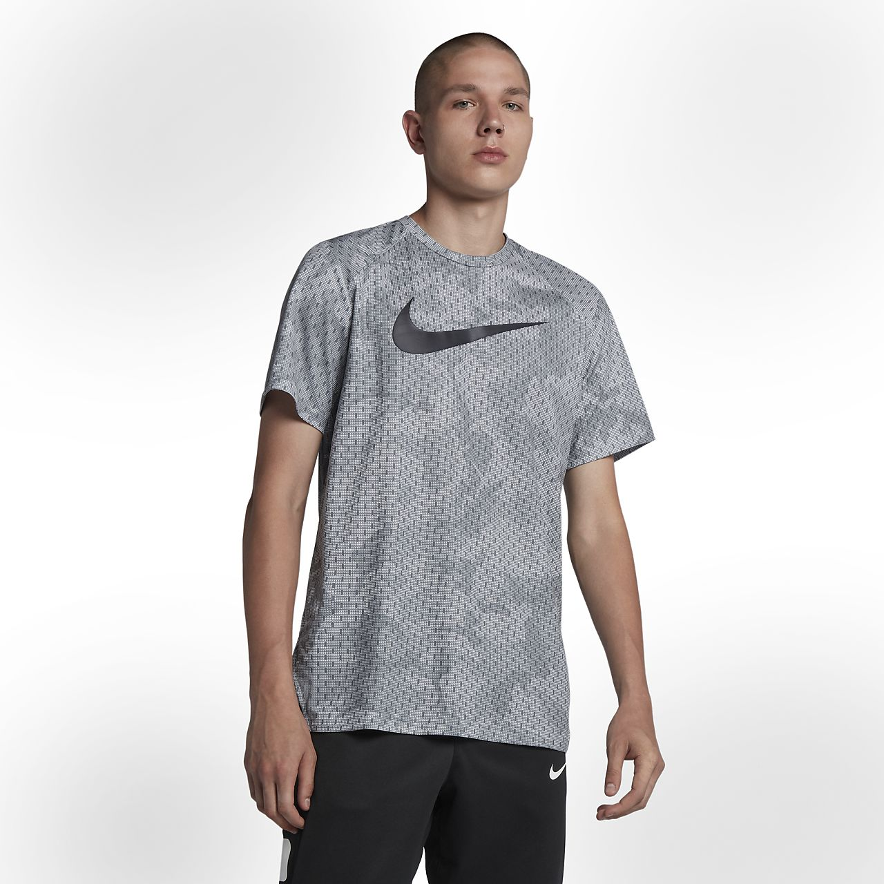 06ecb804cd71 Nike Dri-FIT Elite Men s Short-Sleeve Basketball Top. Nike.com GB