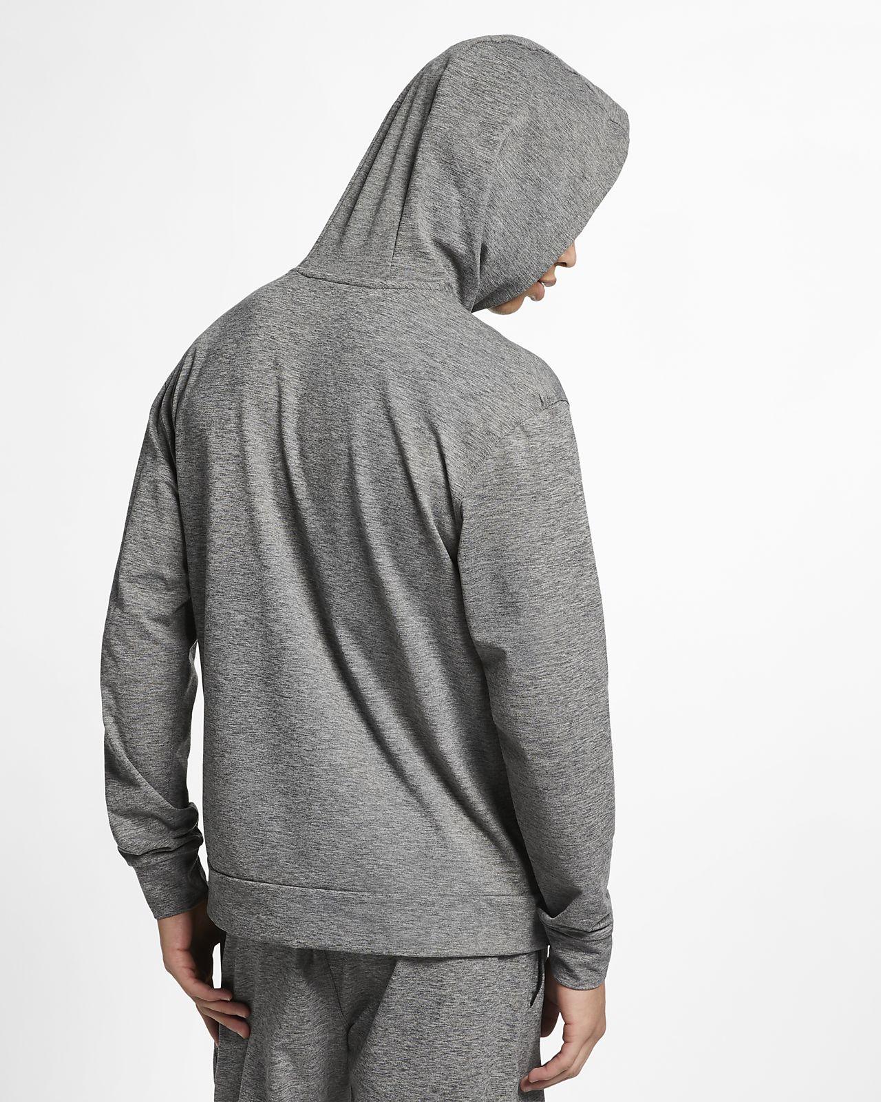 1dea0e190df ... Sudadera con capucha sin cierre de manga larga de entrenamiento de yoga  para hombre Nike Dri