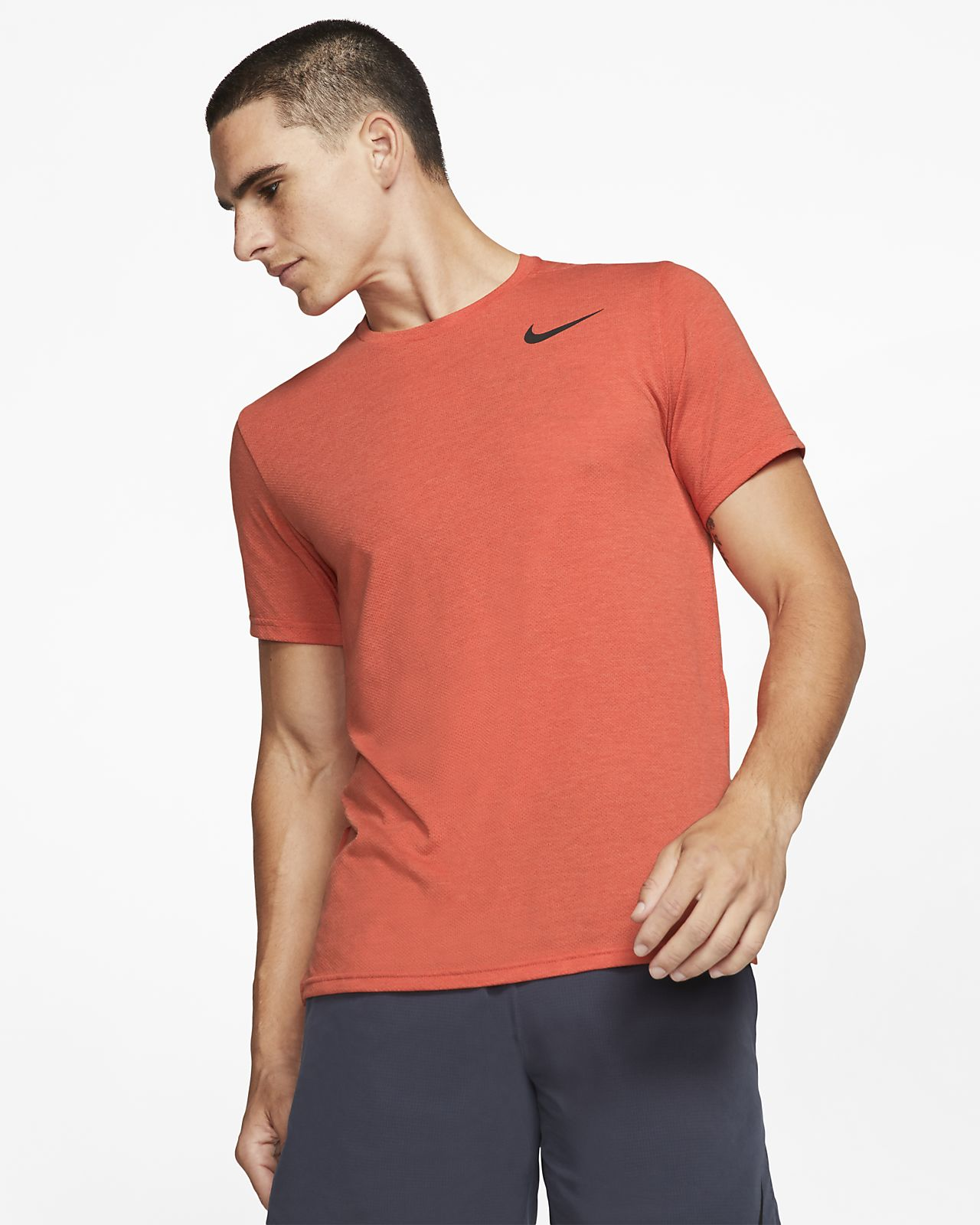 Camisola de treino de manga curta Nike Breathe para homem