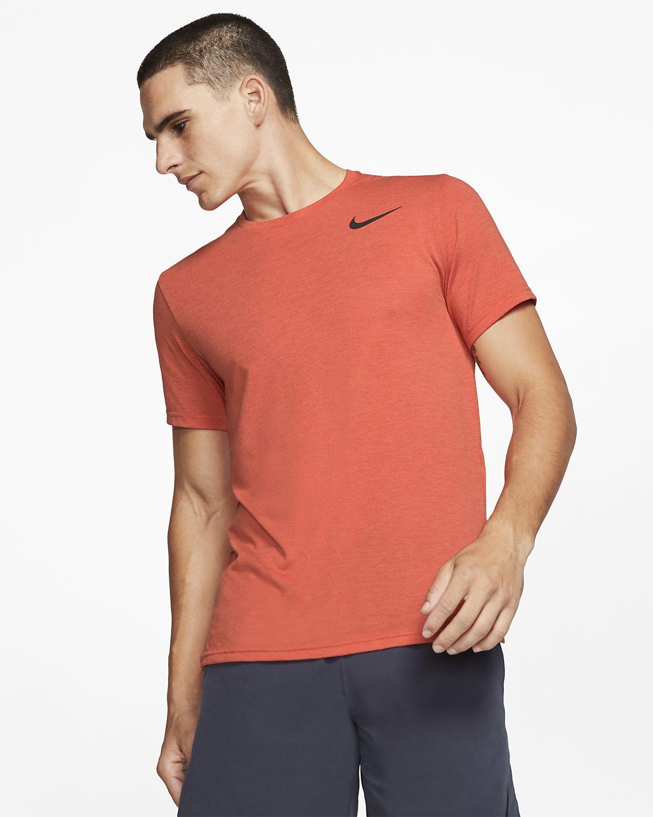 Pánské tréninkové tričko Nike Breathe s krátkým rukávem