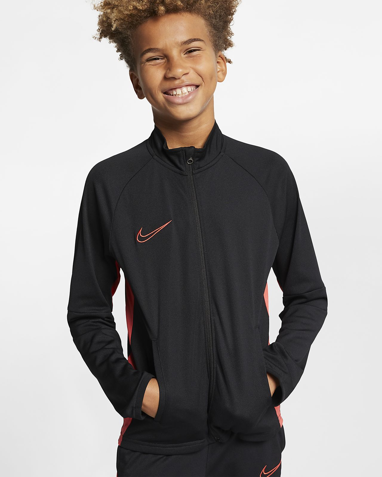 Conjunto de entrenamiento de fútbol para niño talla grande Nike Dri-FIT Academy