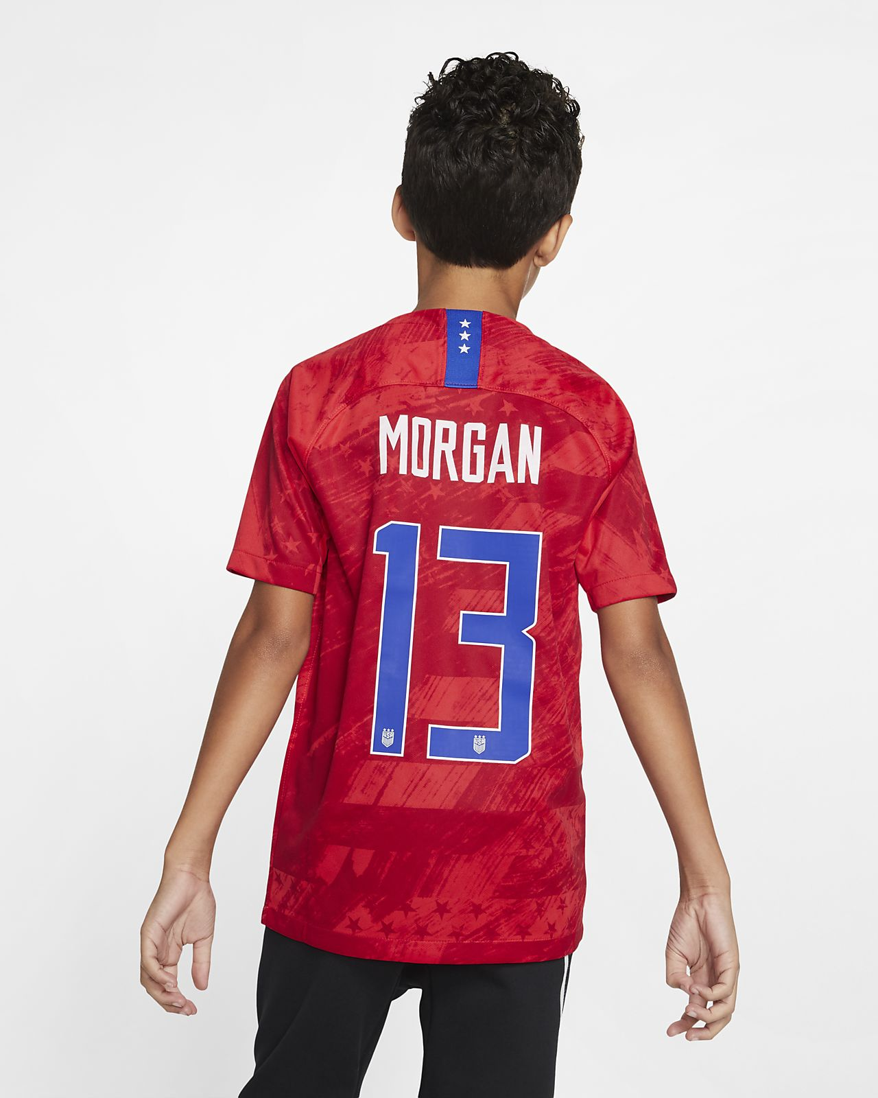 U.S. Stadium 2019 (Alex Morgan) Big Kids' Away Jersey