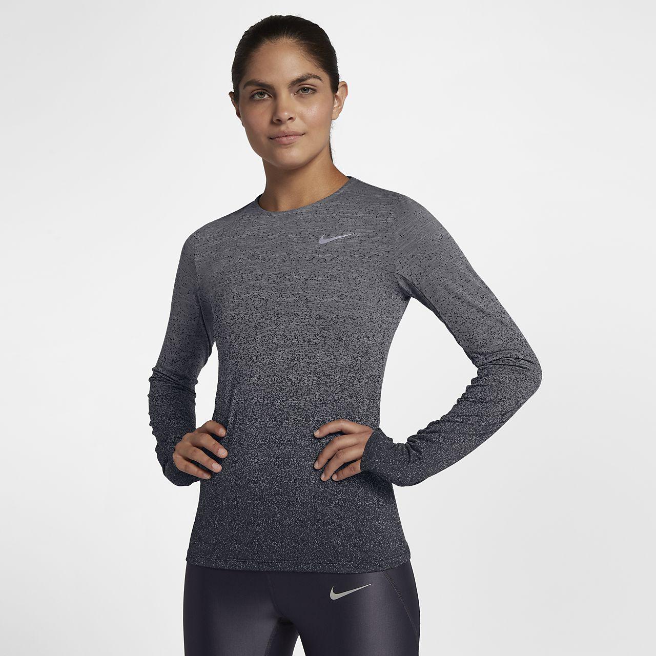 Nike Medalist Women s Long Sleeve Running Top. Nike.com 85feeab77752