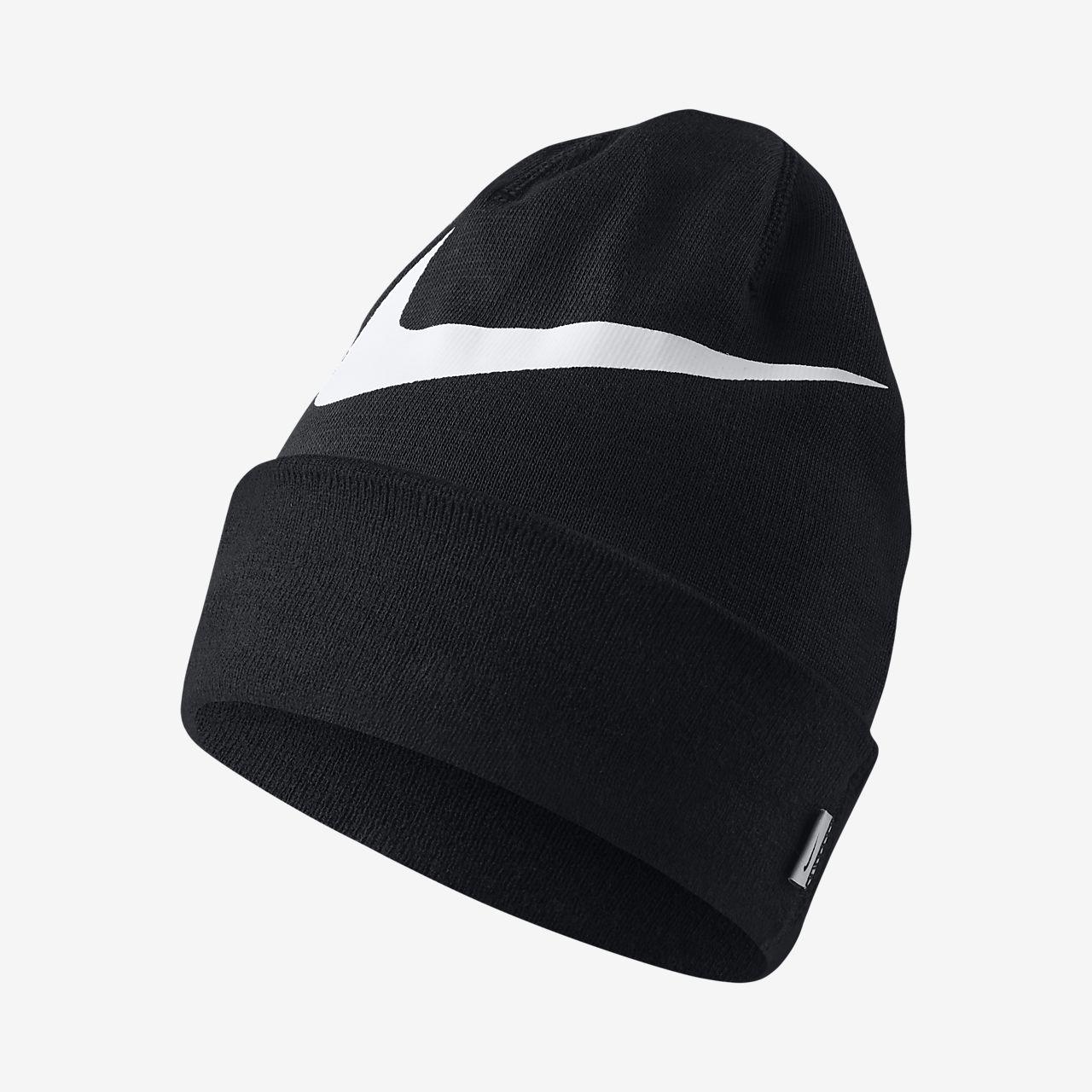 12d98a78f47 Nike Swoosh Cuffed Training Knit Hat. Nike.com DK