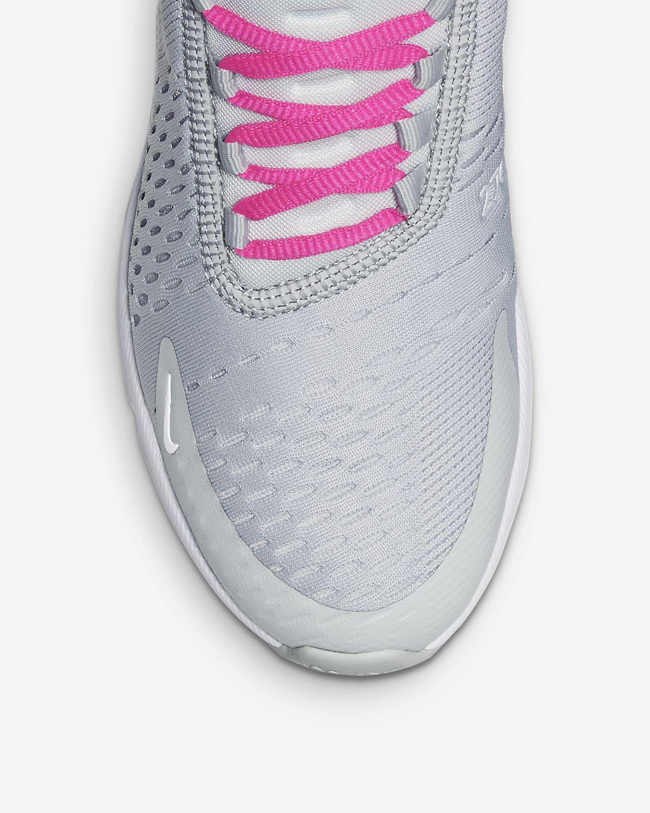 Nike Women's Air Max 270 Light CreamMetallic GoldTerra BlushDusty Peach Mesh Casual Shoes 8 M US